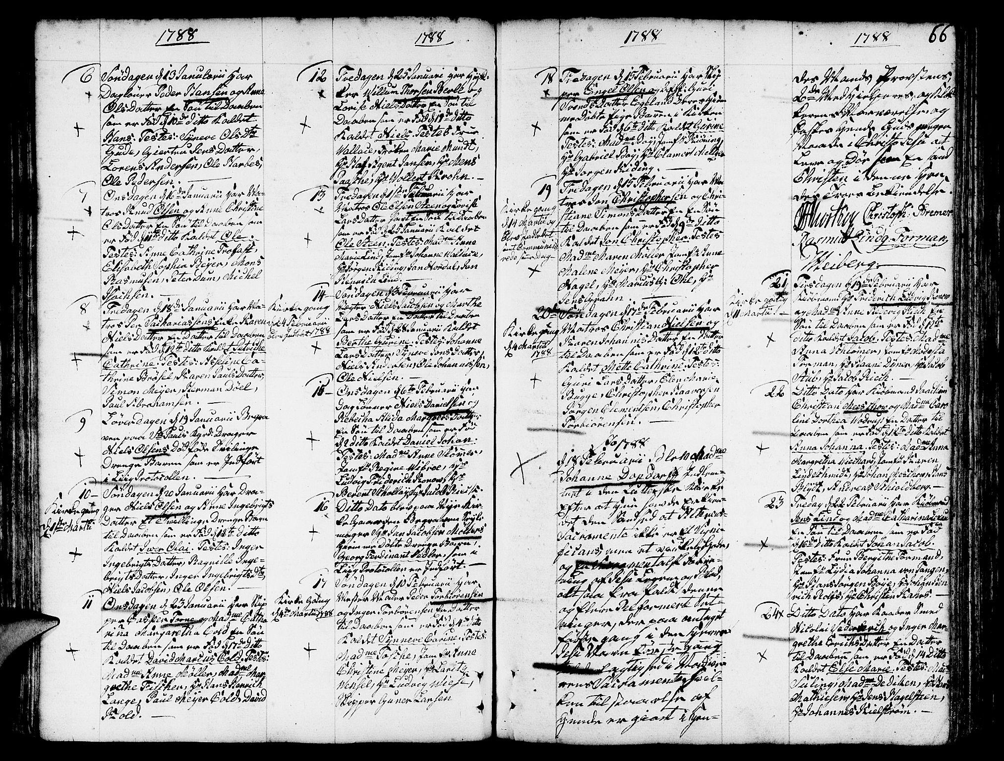 SAB, Nykirken Sokneprestembete, H/Haa: Ministerialbok nr. A 5, 1775-1808, s. 66