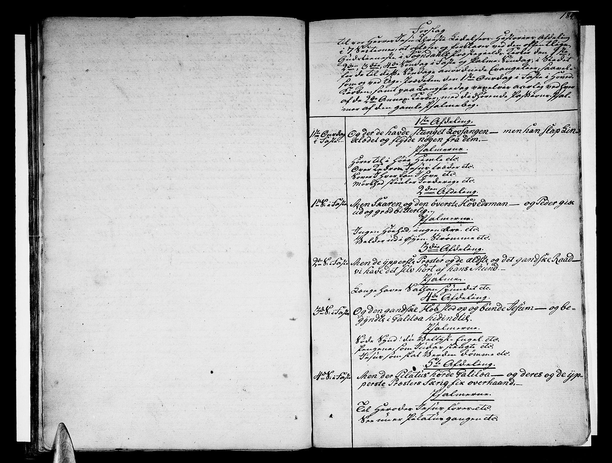 SAB, Sogndal sokneprestembete, H/Haa/Haaa/L0009: Ministerialbok nr. A 9, 1809-1821, s. 184