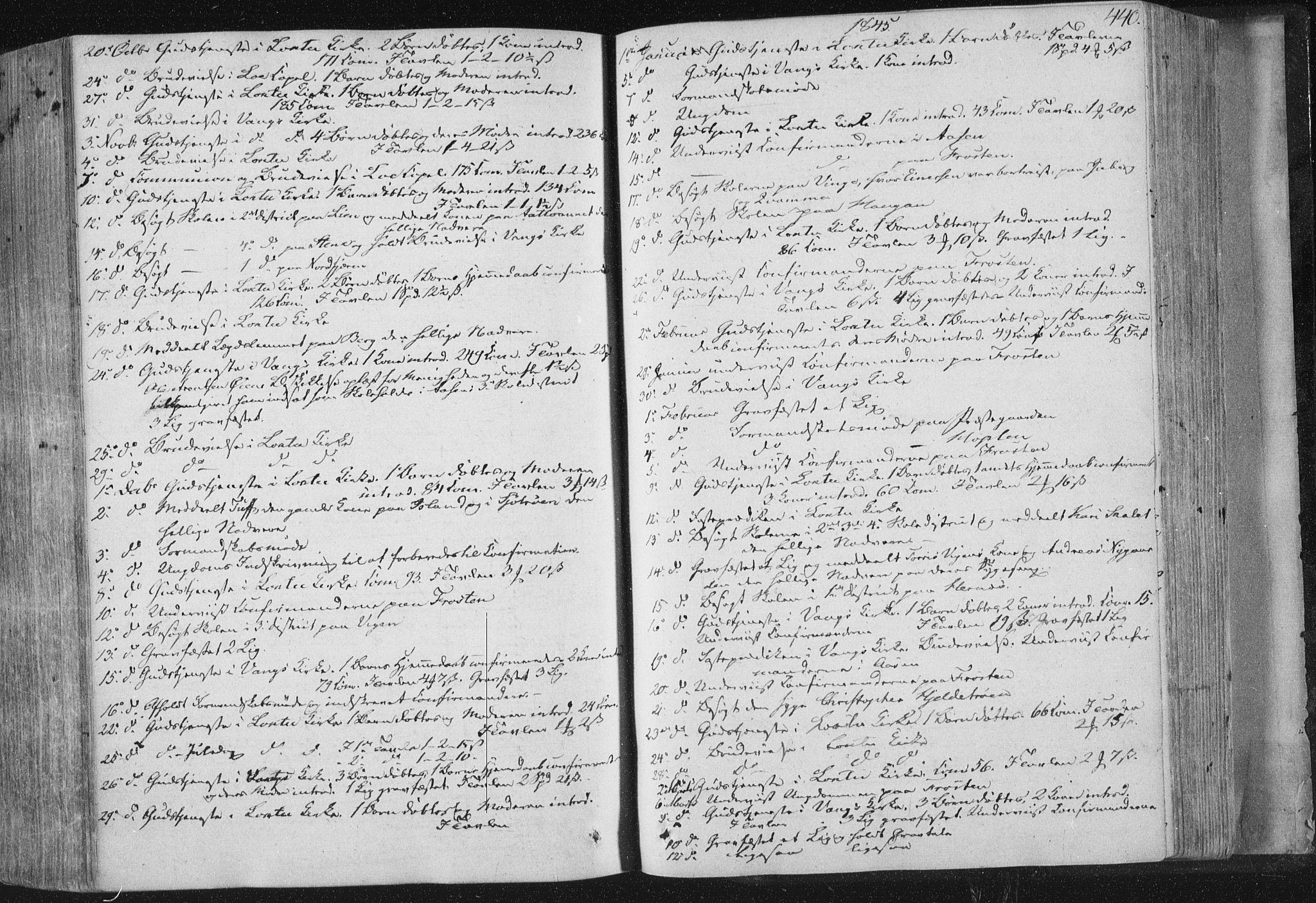 SAT, Ministerialprotokoller, klokkerbøker og fødselsregistre - Nord-Trøndelag, 713/L0115: Ministerialbok nr. 713A06, 1838-1851, s. 440