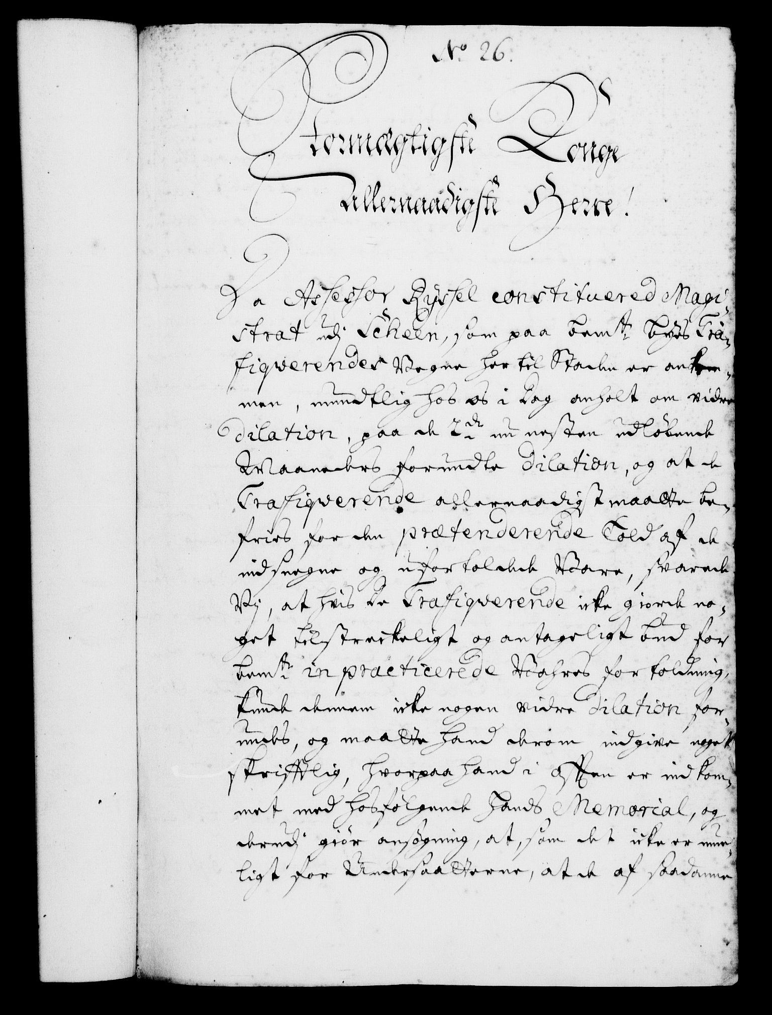 RA, Rentekammeret, Kammerkanselliet, G/Gf/Gfa/L0005: Norsk relasjons- og resolusjonsprotokoll (merket RK 52.5), 1722, s. 126