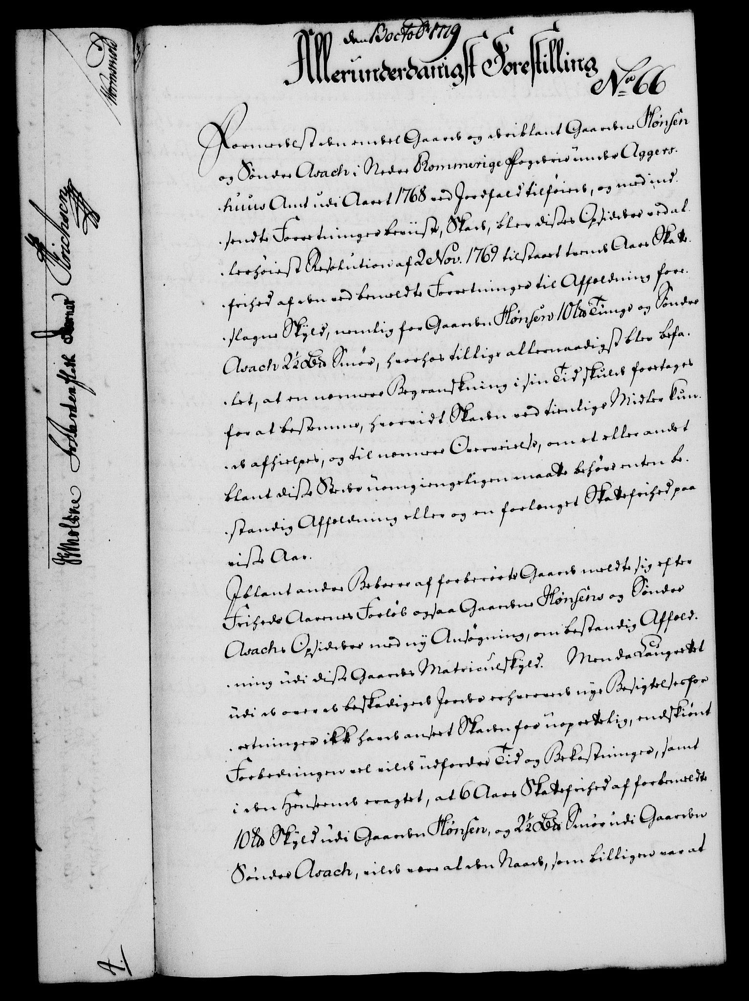 RA, Rentekammeret, Kammerkanselliet, G/Gf/Gfa/L0061: Norsk relasjons- og resolusjonsprotokoll (merket RK 52.61), 1779, s. 485