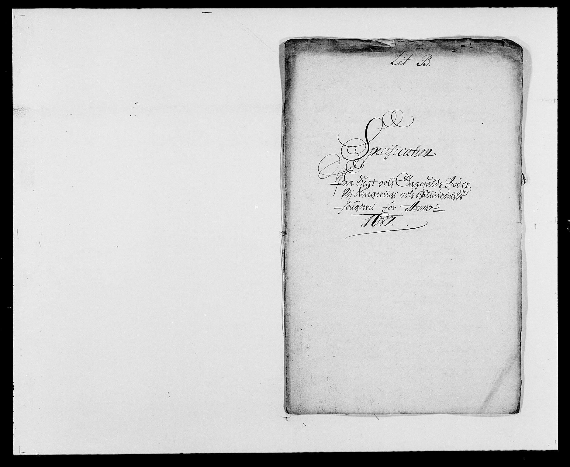 RA, Rentekammeret inntil 1814, Reviderte regnskaper, Fogderegnskap, R21/L1445: Fogderegnskap Ringerike og Hallingdal, 1681-1689, s. 232