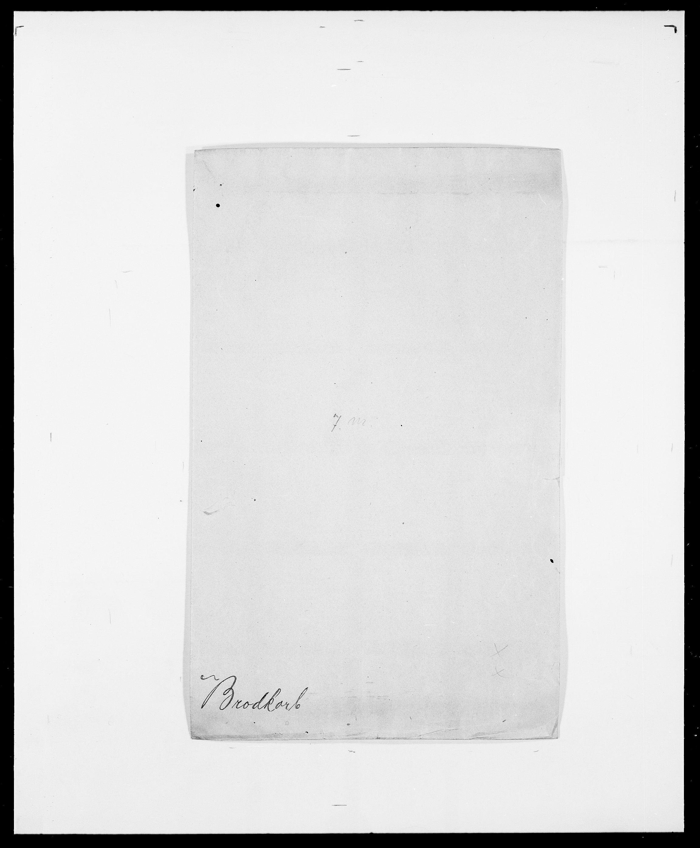 SAO, Delgobe, Charles Antoine - samling, D/Da/L0006: Brambani - Brønø, s. 502
