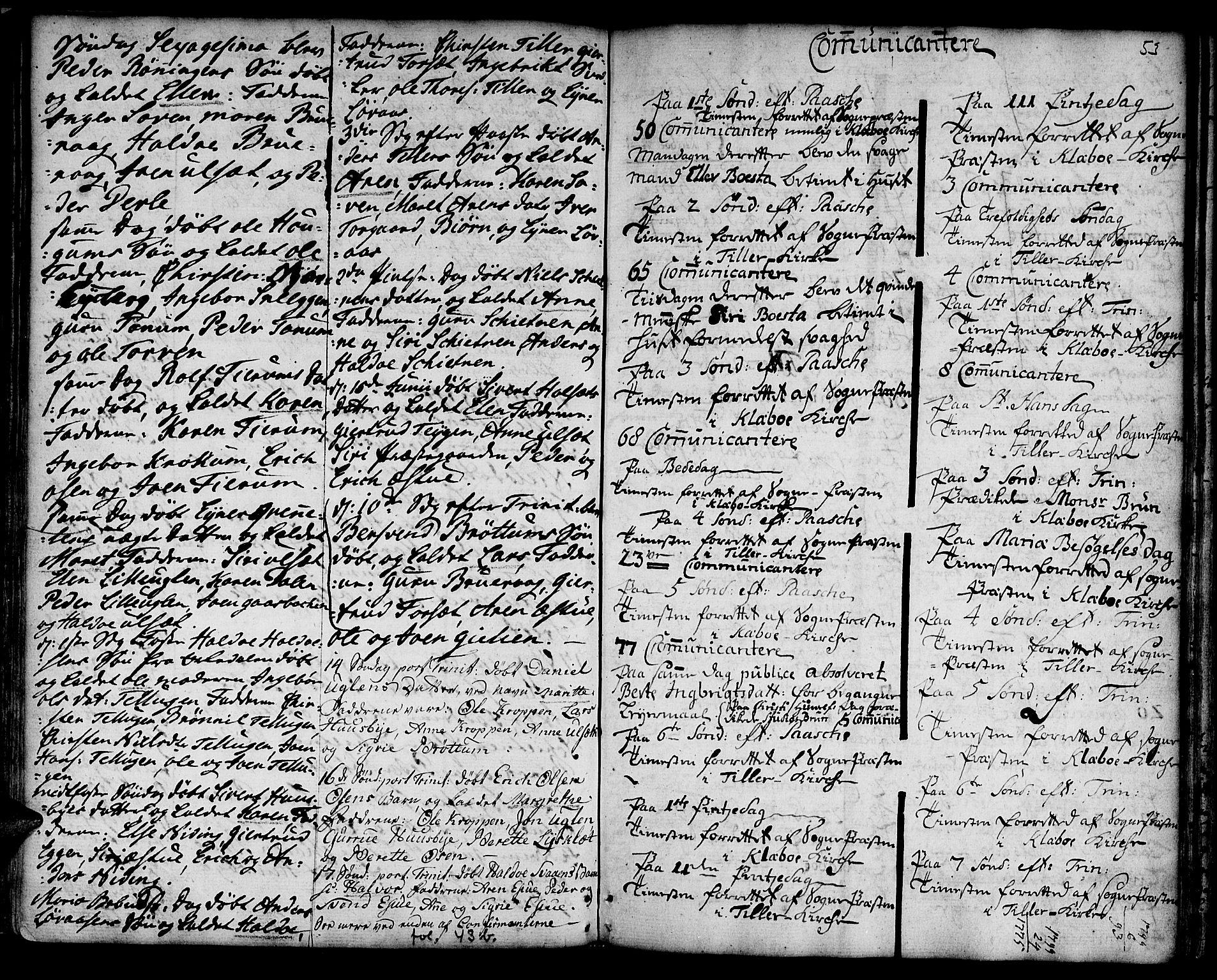SAT, Ministerialprotokoller, klokkerbøker og fødselsregistre - Sør-Trøndelag, 618/L0437: Ministerialbok nr. 618A02, 1749-1782, s. 53
