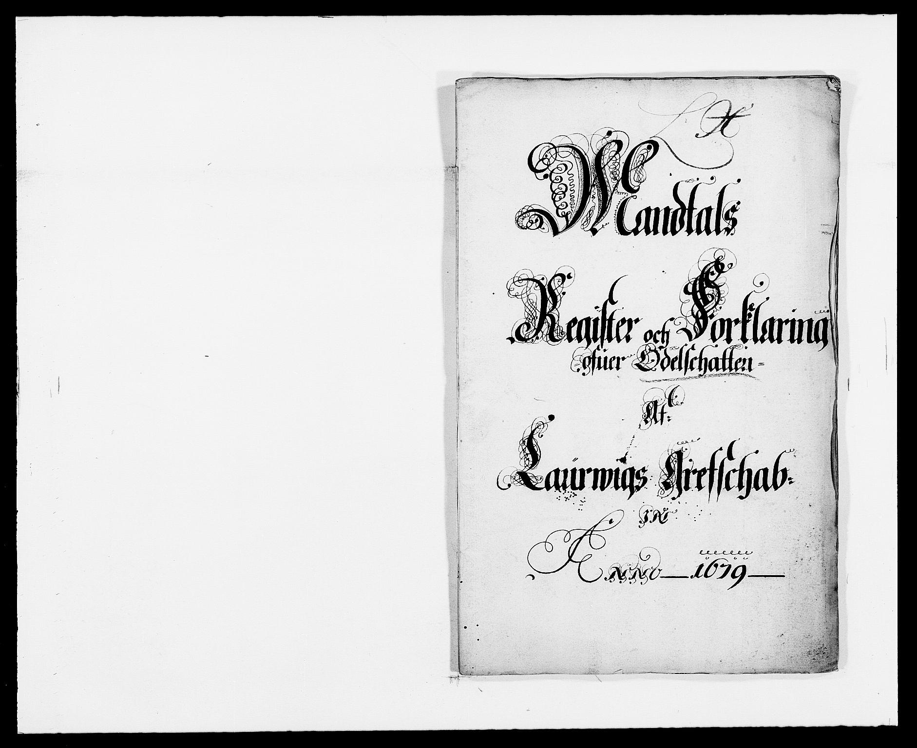 RA, Rentekammeret inntil 1814, Reviderte regnskaper, Fogderegnskap, R33/L1968: Fogderegnskap Larvik grevskap, 1675-1687, s. 275