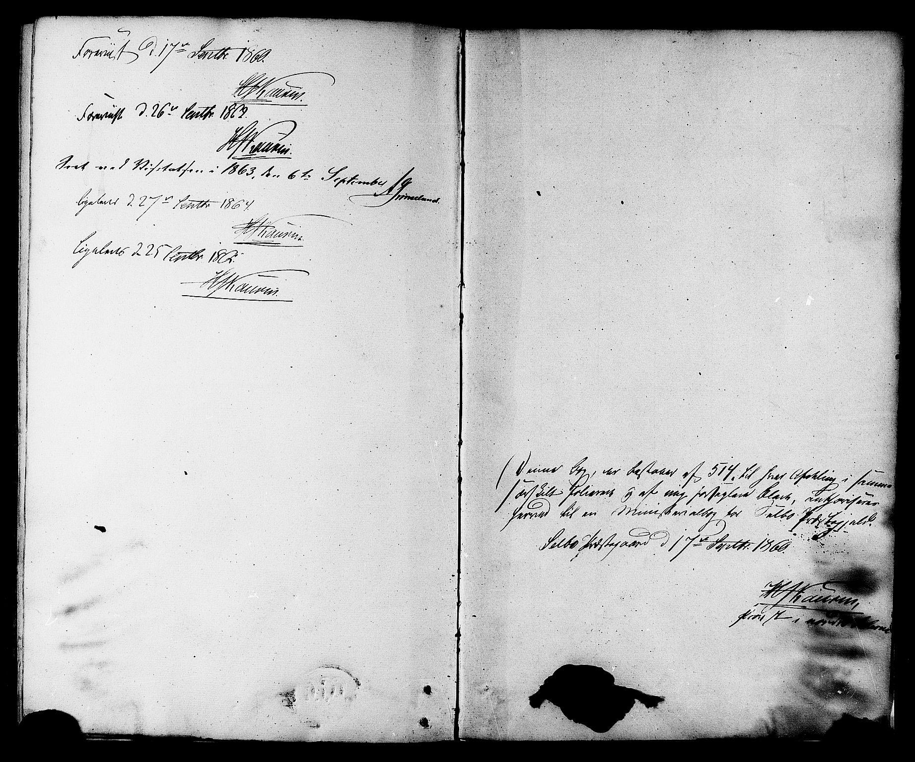 SAT, Ministerialprotokoller, klokkerbøker og fødselsregistre - Sør-Trøndelag, 695/L1147: Ministerialbok nr. 695A07, 1860-1877