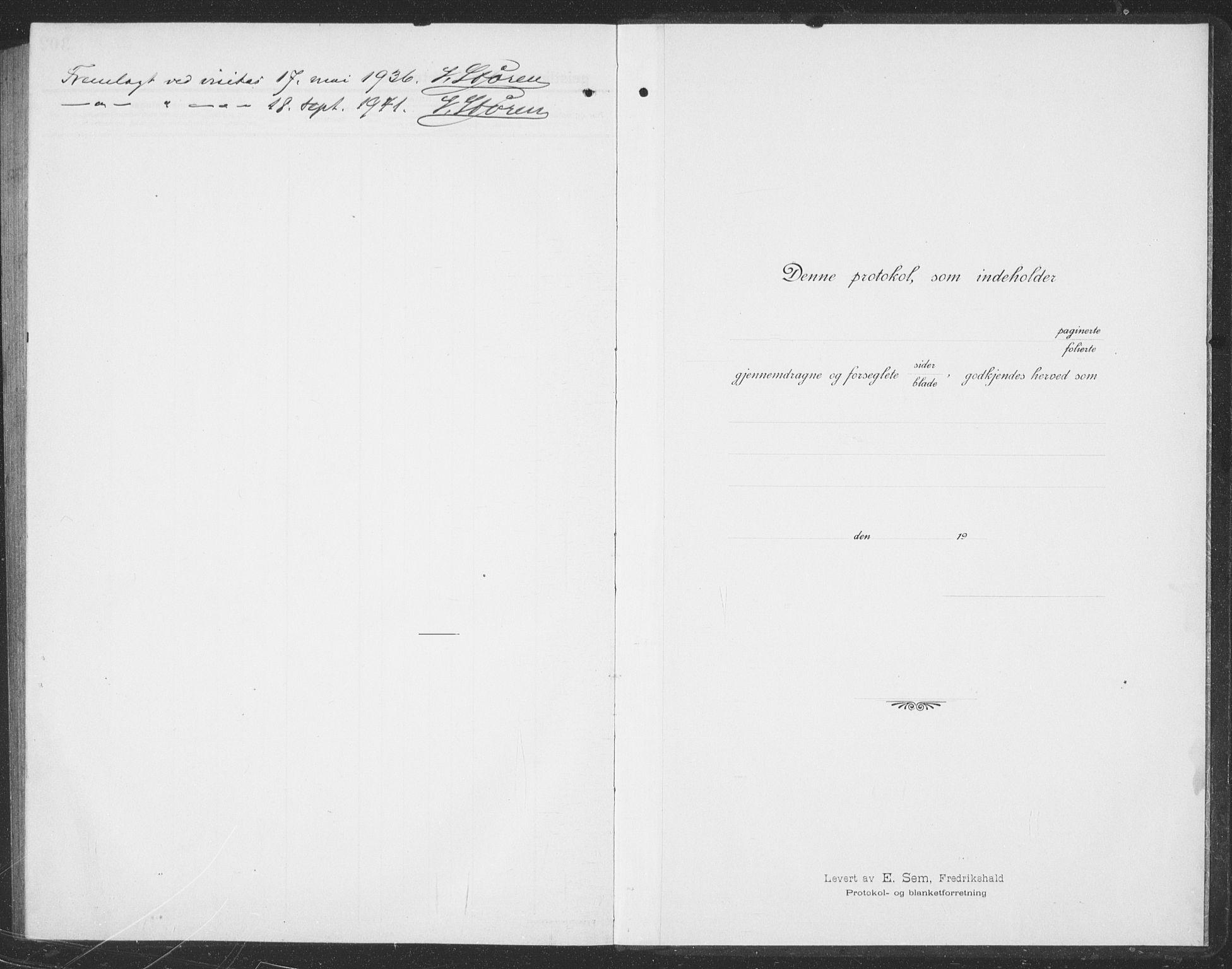 SAT, Ministerialprotokoller, klokkerbøker og fødselsregistre - Sør-Trøndelag, 694/L1134: Klokkerbok nr. 694C06, 1915-1937