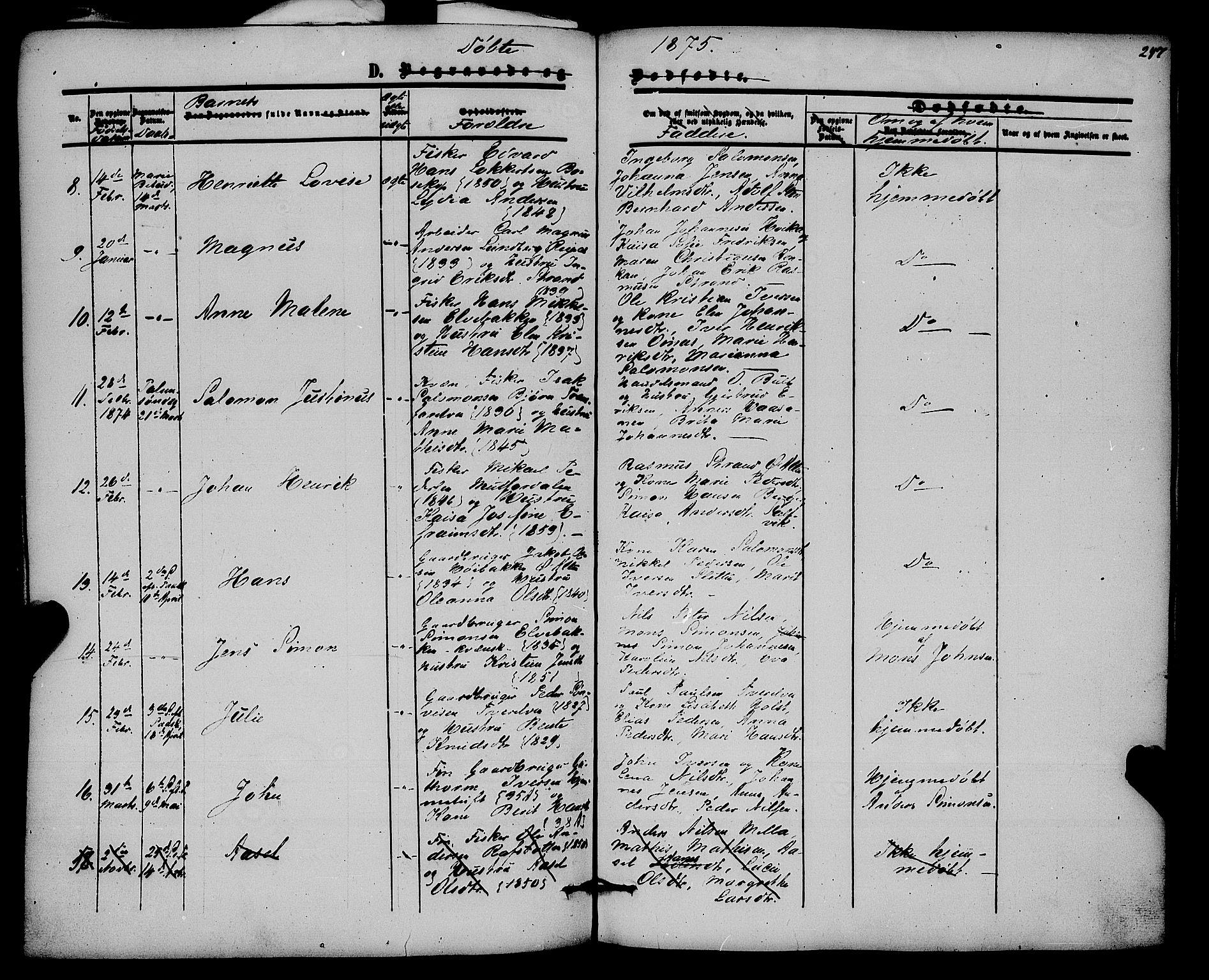 SATØ, Alta sokneprestembete, Ministerialbok nr. 1, 1858-1878, s. 247