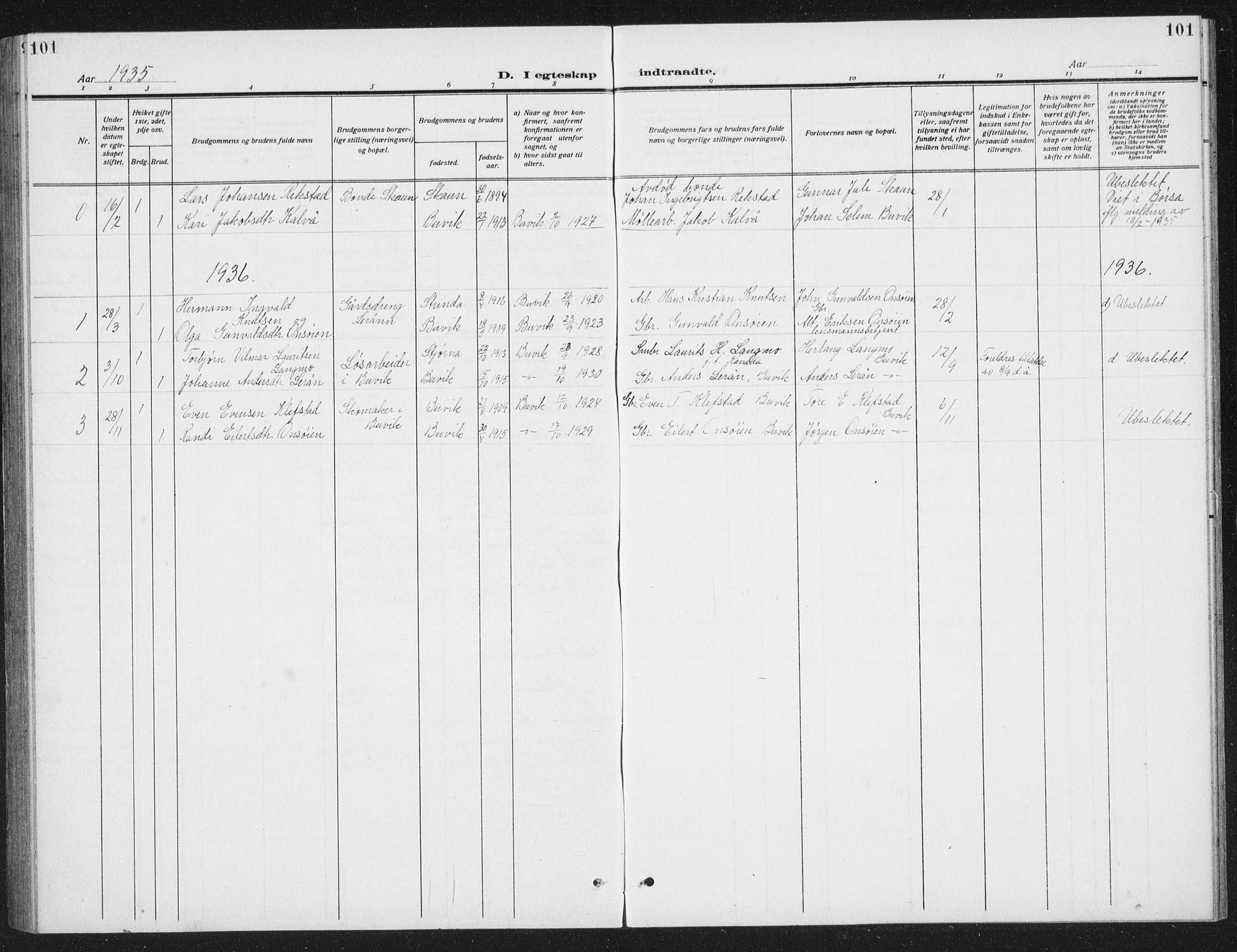 SAT, Ministerialprotokoller, klokkerbøker og fødselsregistre - Sør-Trøndelag, 666/L0791: Klokkerbok nr. 666C04, 1909-1939, s. 101