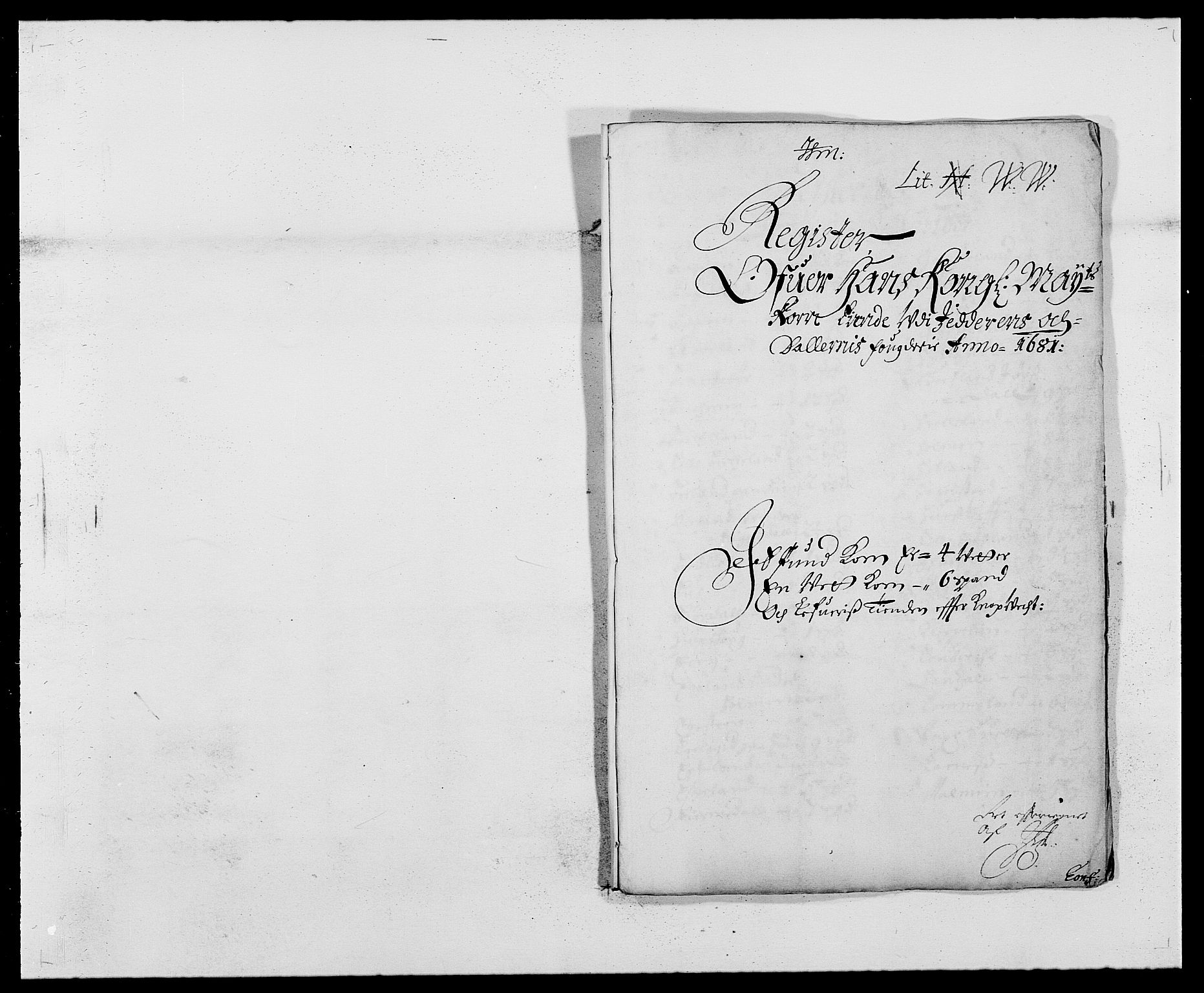 RA, Rentekammeret inntil 1814, Reviderte regnskaper, Fogderegnskap, R46/L2722: Fogderegnskap Jæren og Dalane, 1681, s. 134