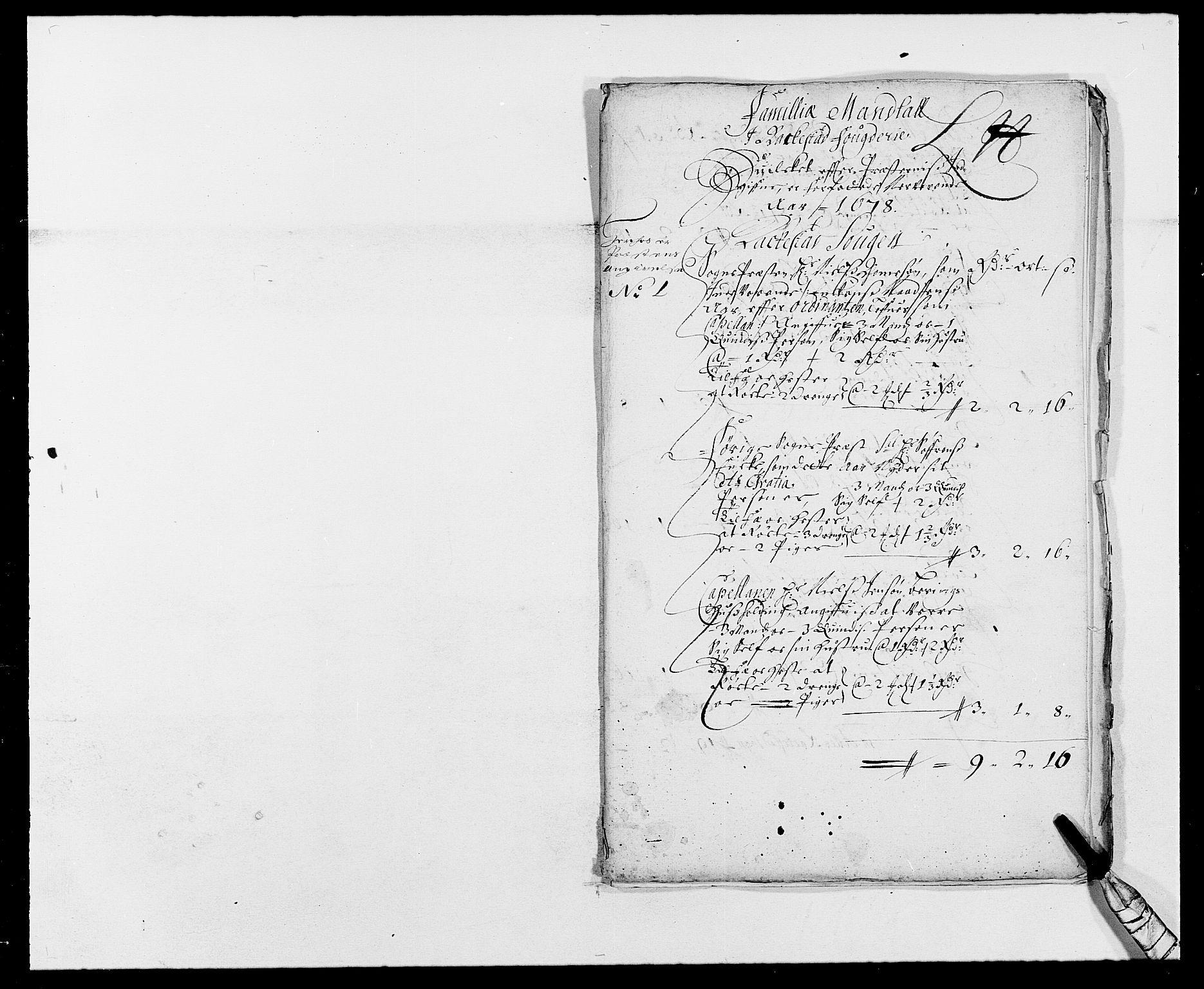 RA, Rentekammeret inntil 1814, Reviderte regnskaper, Fogderegnskap, R05/L0271: Fogderegnskap Rakkestad, 1678-1679, s. 199