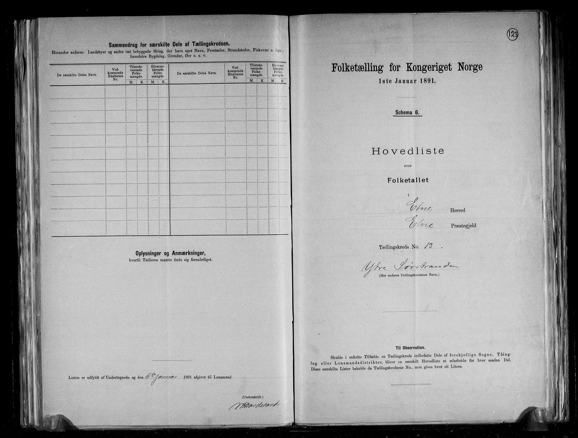 RA, Folketelling 1891 for 1211 Etne herred, 1891, s. 36