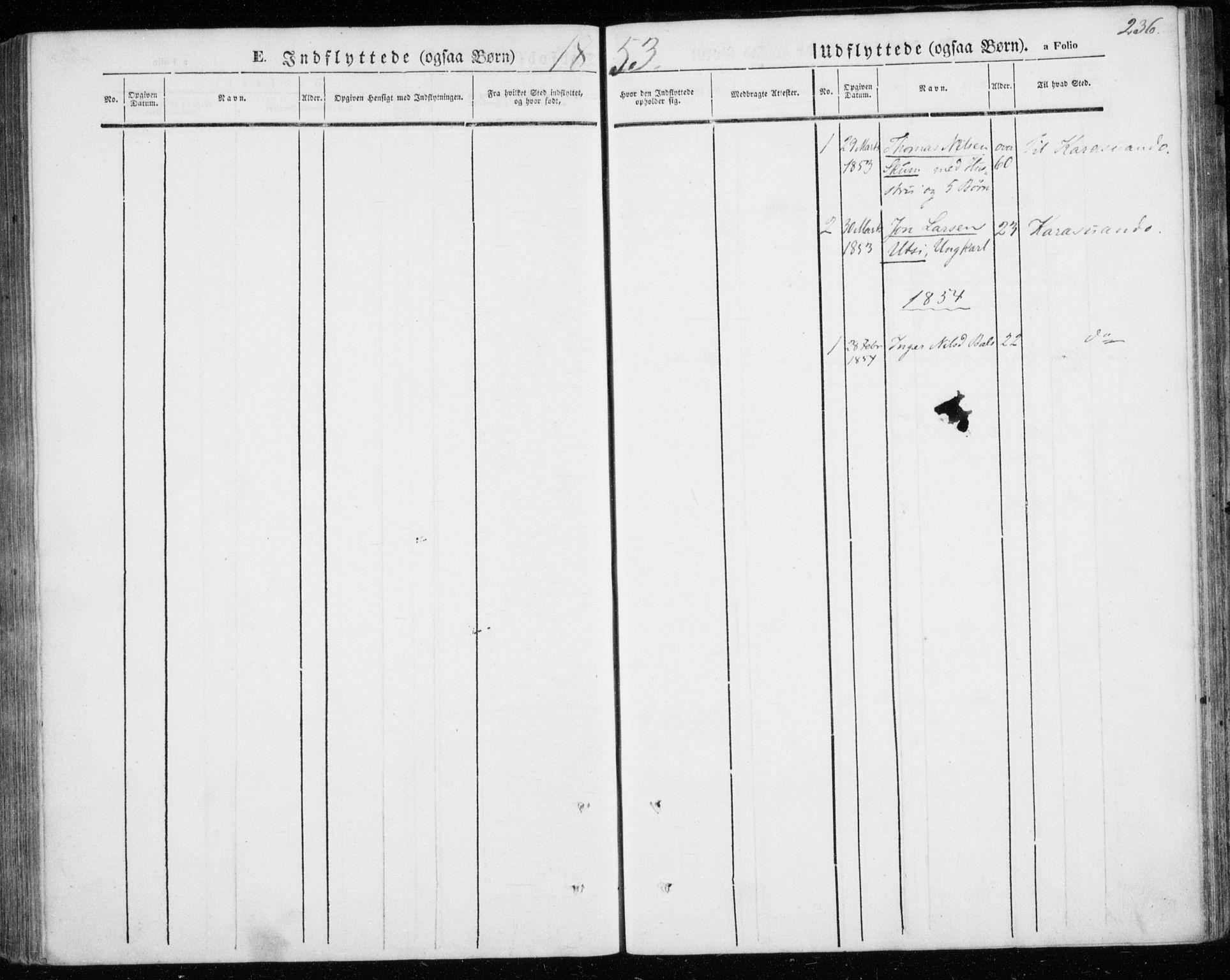 SATØ, Kautokeino sokneprestembete, H/Ha/L0002.kirke: Ministerialbok nr. 2, 1843-1861, s. 236
