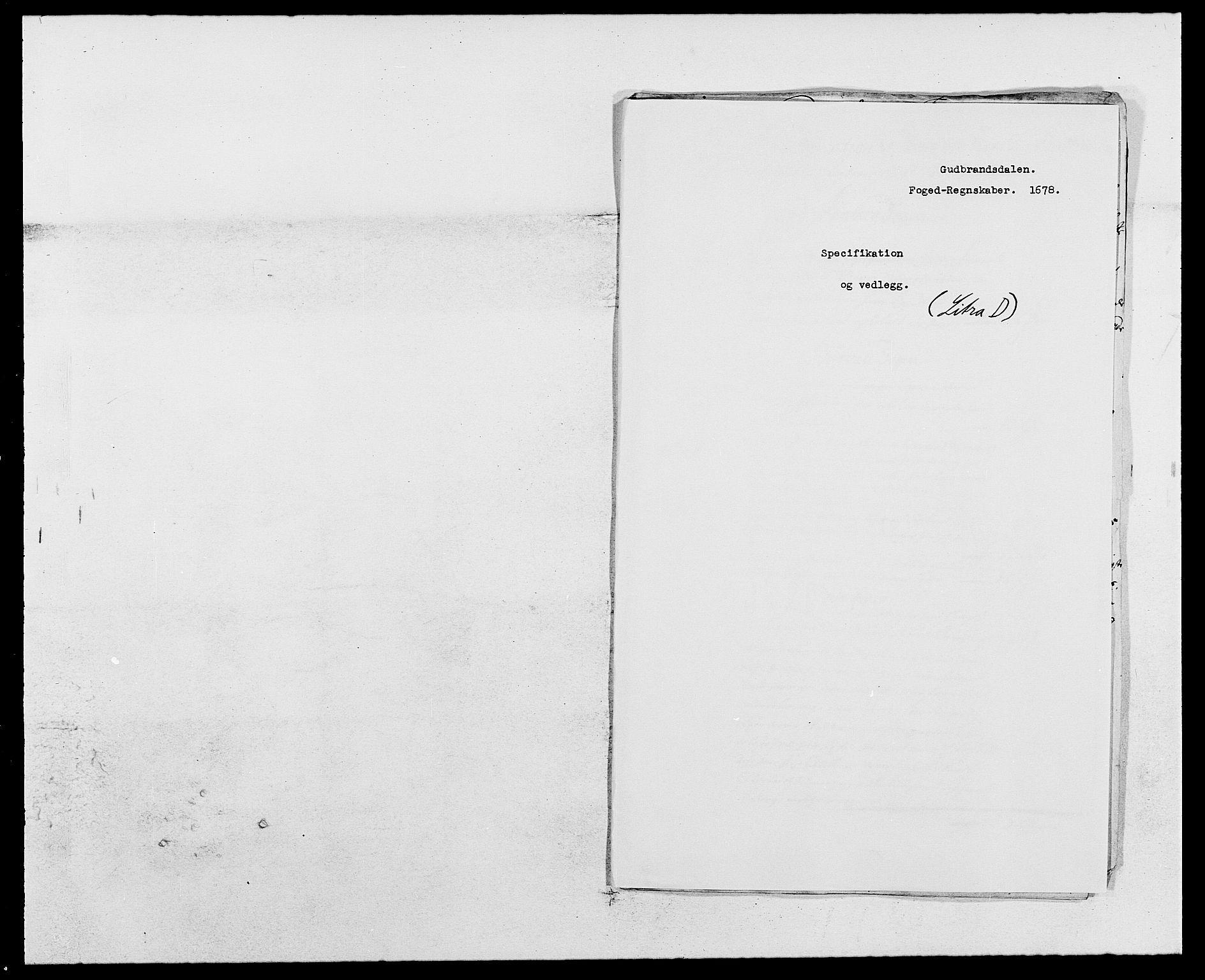 RA, Rentekammeret inntil 1814, Reviderte regnskaper, Fogderegnskap, R17/L1152: Fogderegnskap Gudbrandsdal, 1678-1679, s. 204