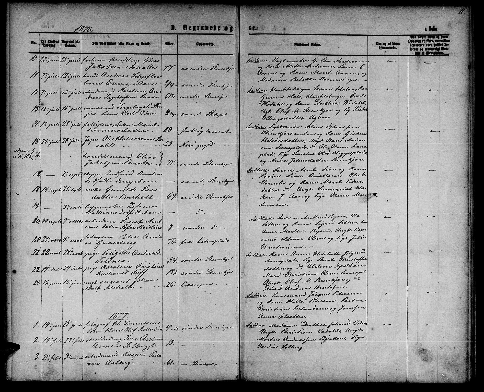 SAT, Ministerialprotokoller, klokkerbøker og fødselsregistre - Nord-Trøndelag, 739/L0373: Klokkerbok nr. 739C01, 1865-1882, s. 138
