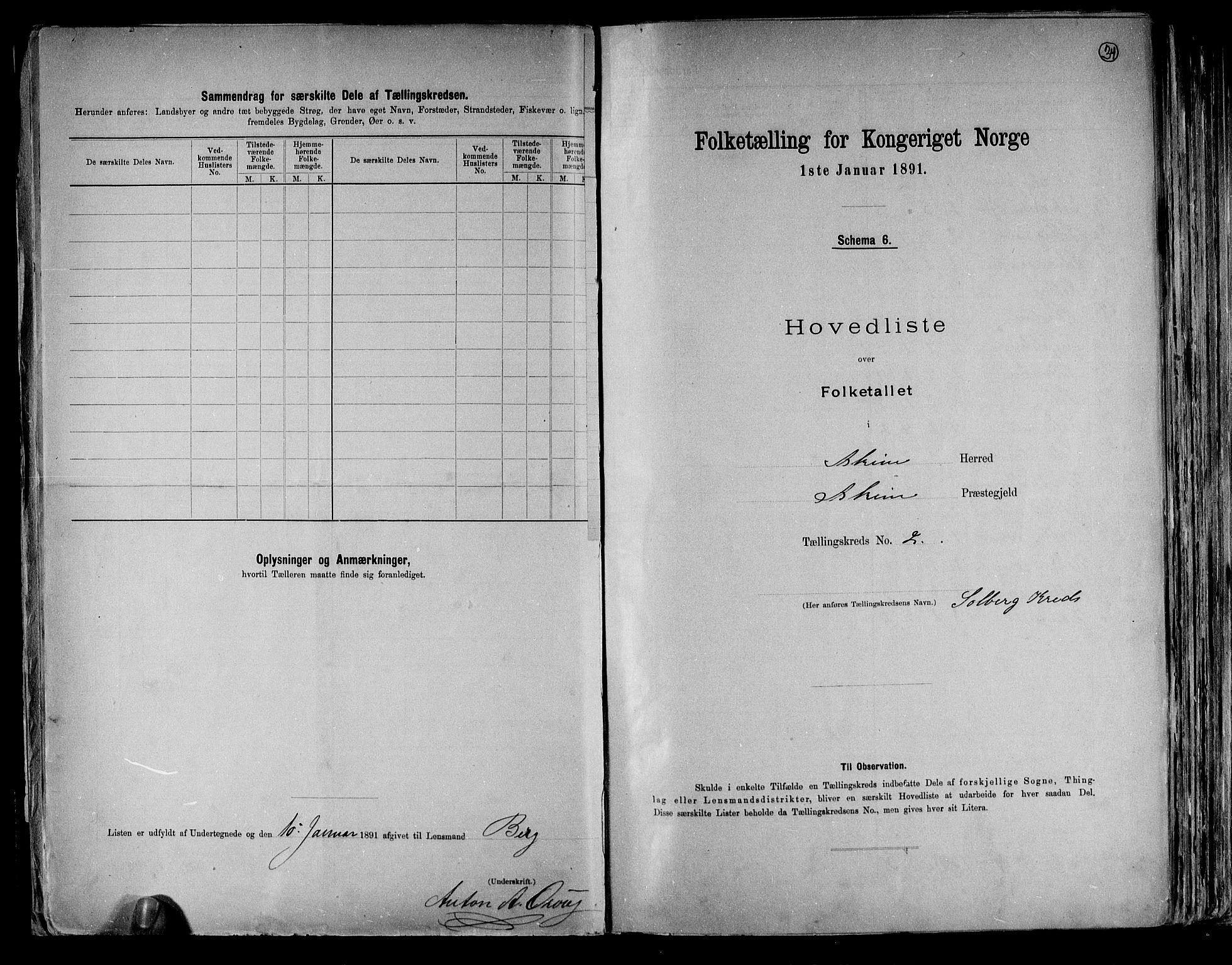 RA, Folketelling 1891 for 0124 Askim herred, 1891, s. 8