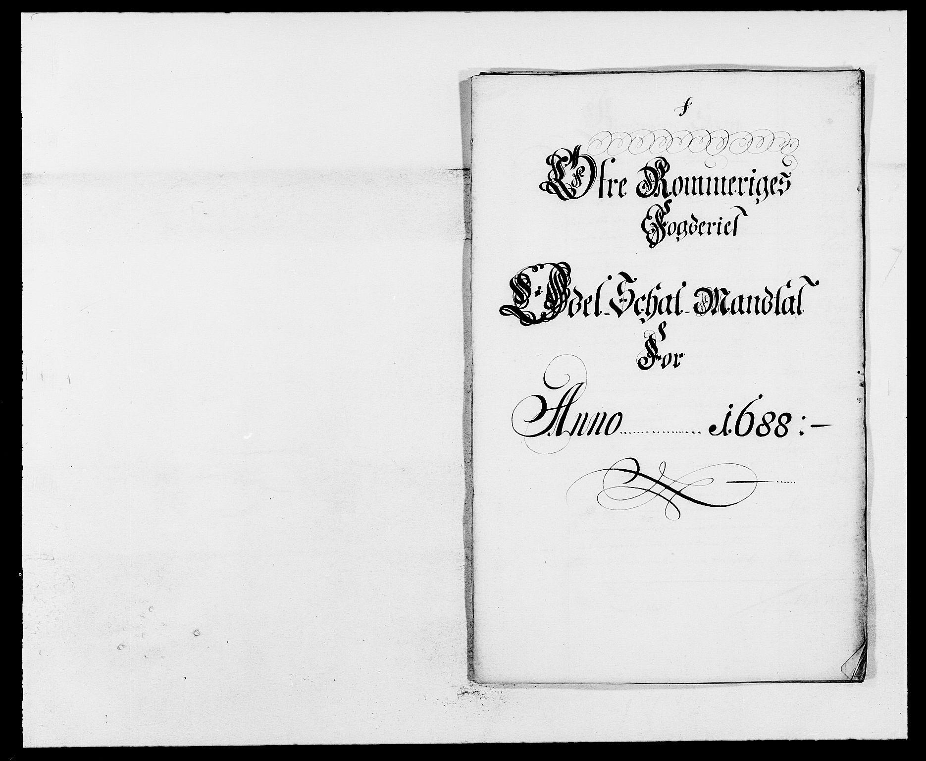 RA, Rentekammeret inntil 1814, Reviderte regnskaper, Fogderegnskap, R12/L0700: Fogderegnskap Øvre Romerike, 1687-1688, s. 385