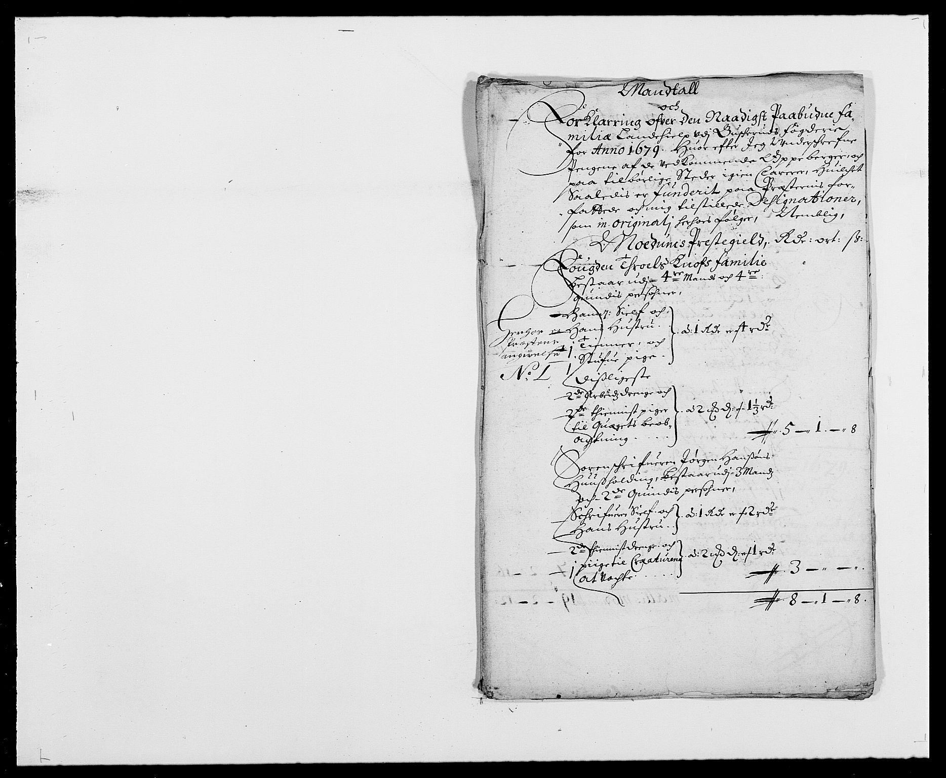 RA, Rentekammeret inntil 1814, Reviderte regnskaper, Fogderegnskap, R25/L1674: Fogderegnskap Buskerud, 1678-1681, s. 332