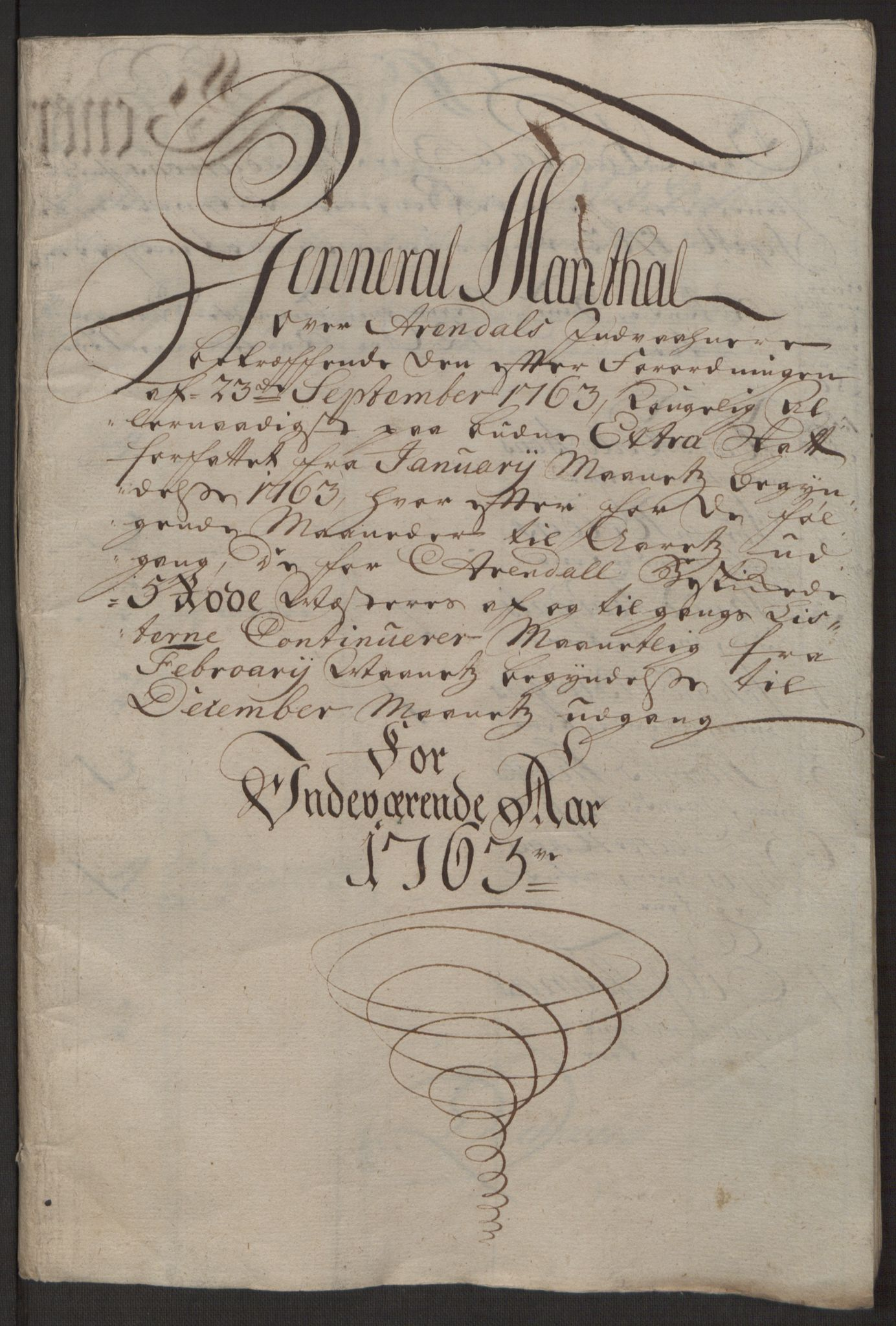 RA, Rentekammeret inntil 1814, Reviderte regnskaper, Byregnskaper, R/Rl/L0230: [L4] Kontribusjonsregnskap, 1762-1764, s. 102