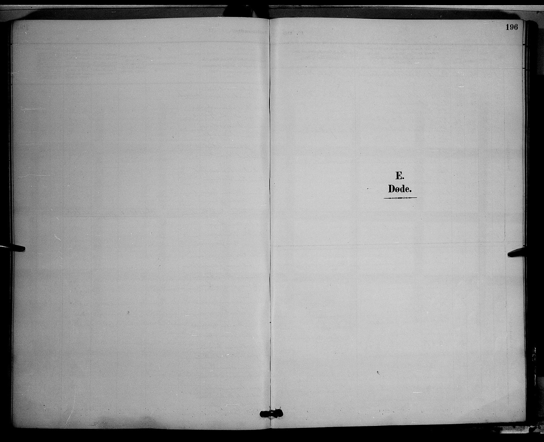 SAH, Vestre Toten prestekontor, Klokkerbok nr. 9, 1888-1900, s. 196