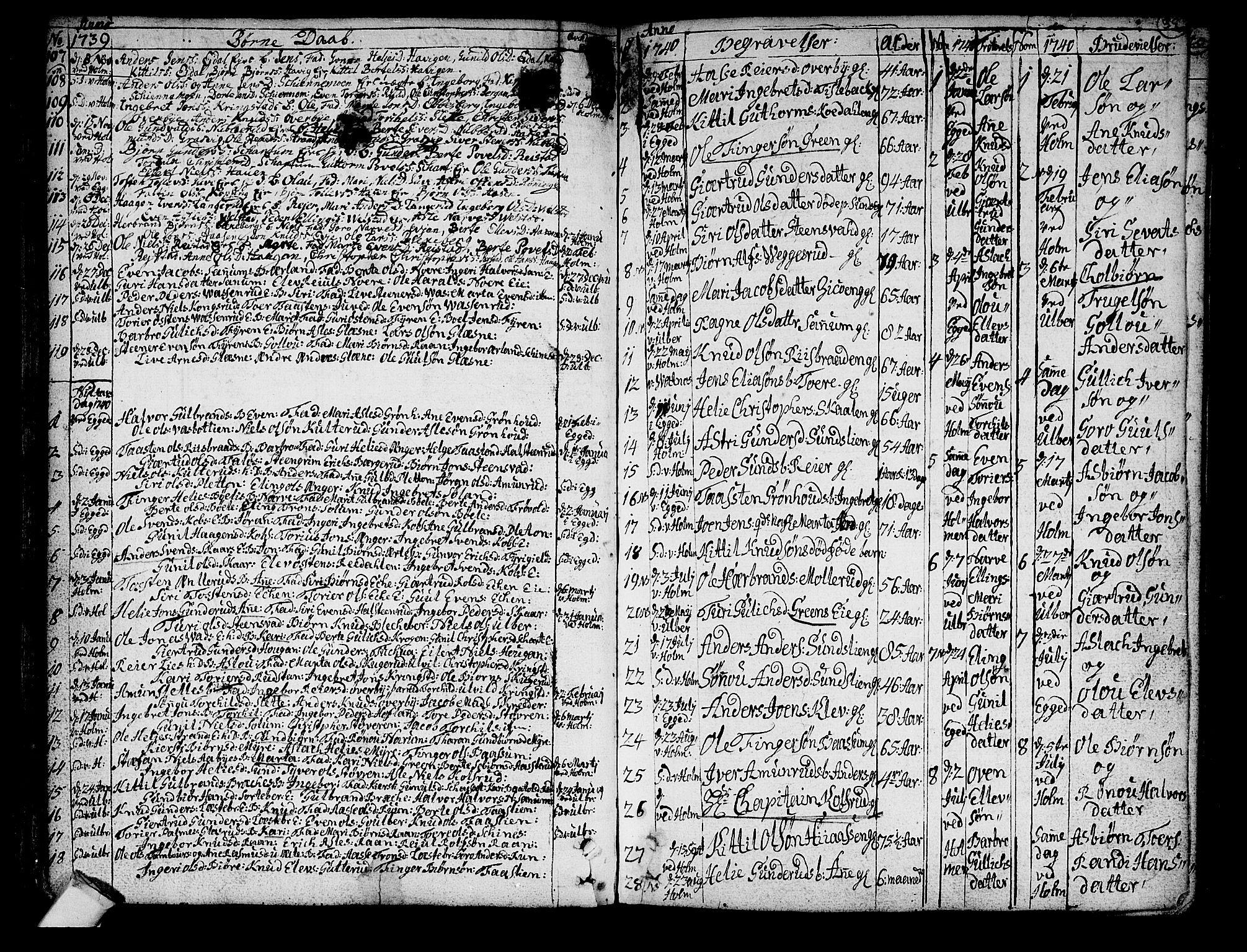 SAKO, Sigdal kirkebøker, F/Fa/L0001: Ministerialbok nr. I 1, 1722-1777, s. 39
