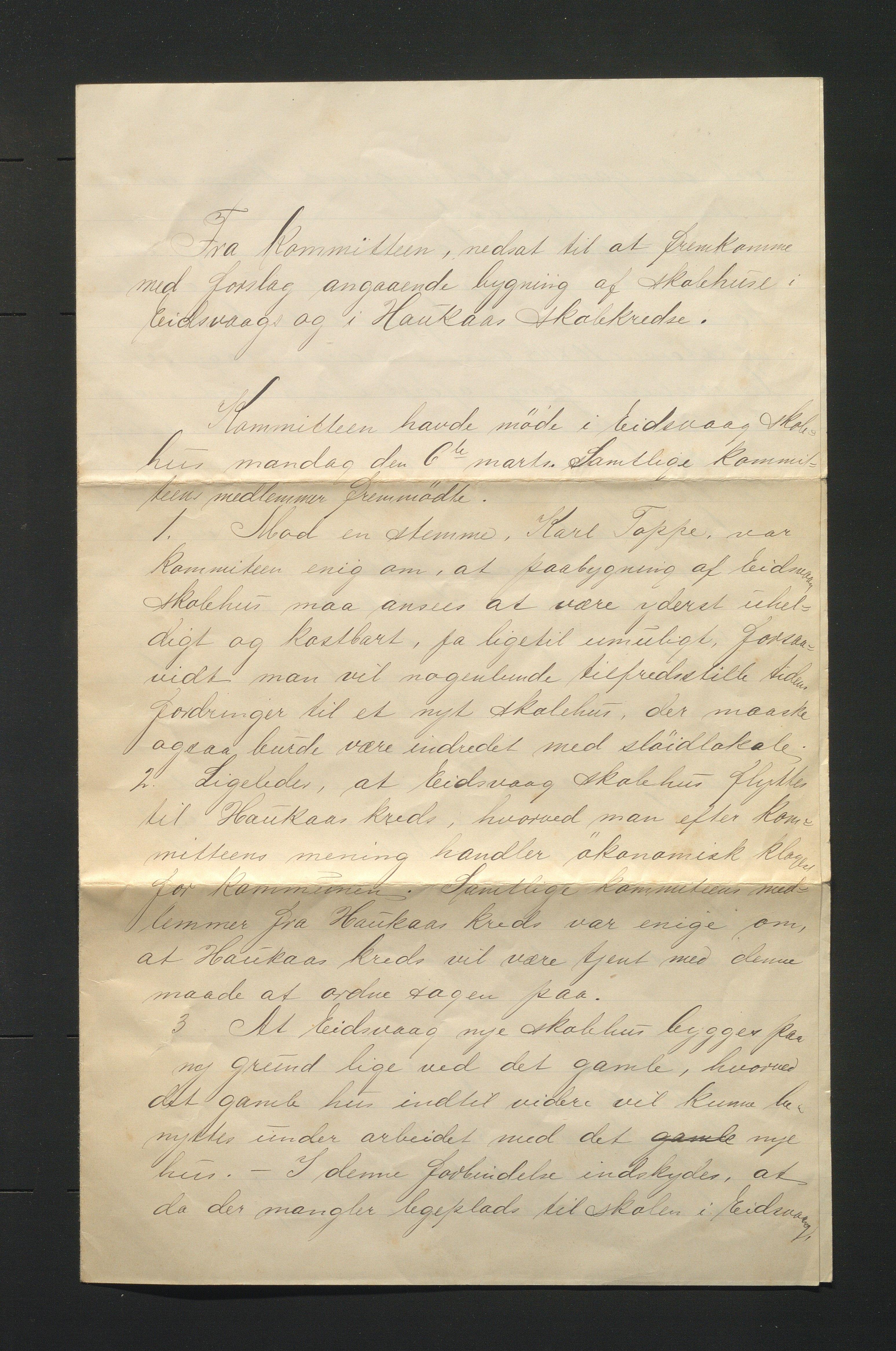 IKAH, Hamre kommune. Skulestyret, D/Db/L0003: Skulehus og lærarbustader. Innbu og reinhald, 1899-1901