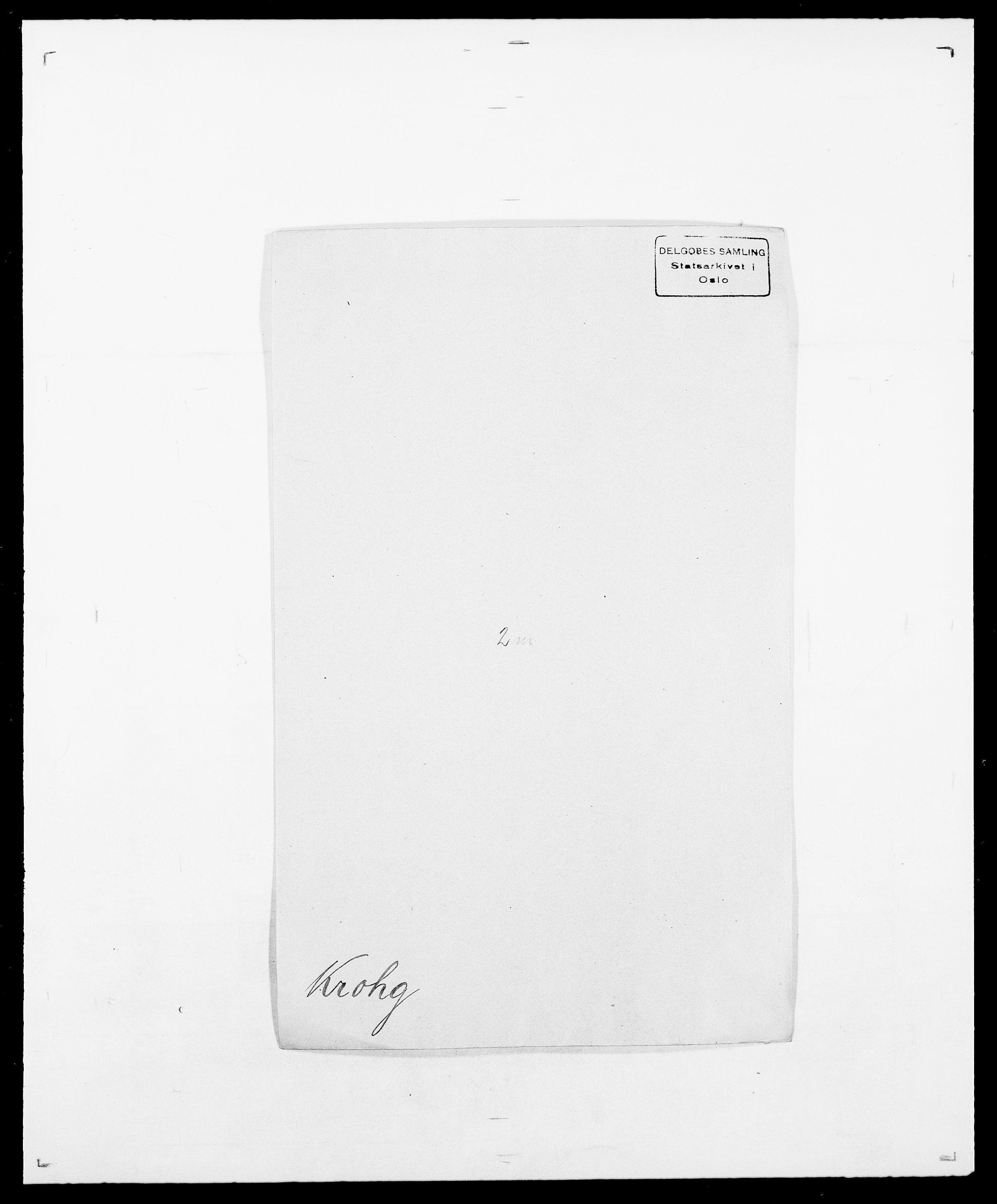 SAO, Delgobe, Charles Antoine - samling, D/Da/L0022: Krog - Lasteen, s. 72