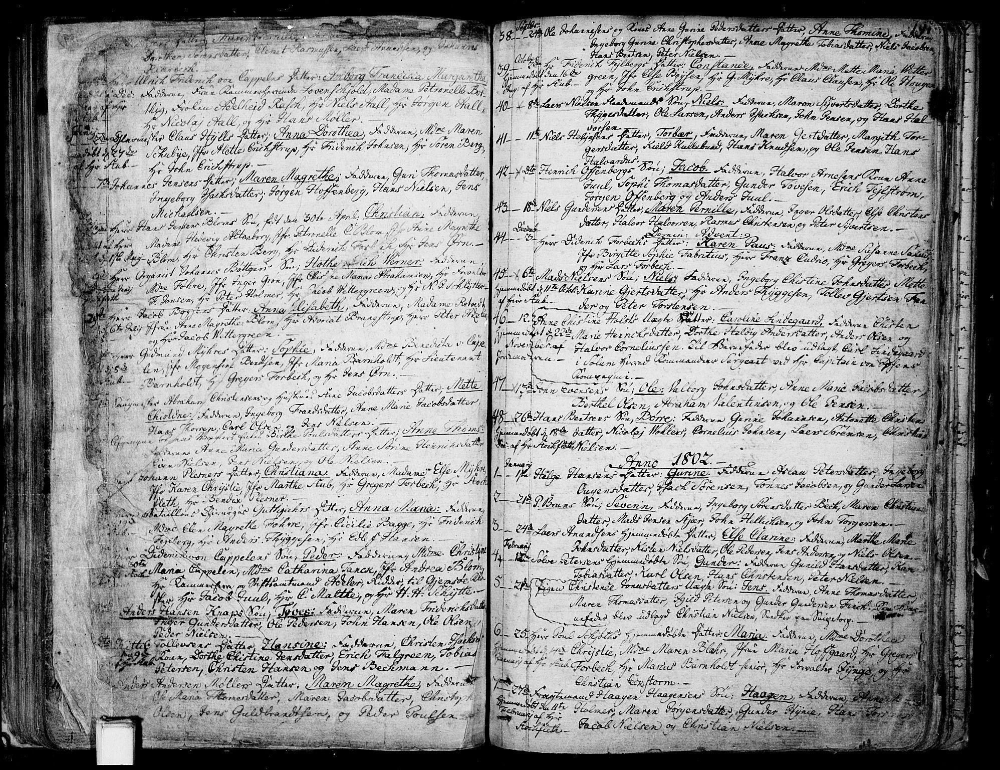 SAKO, Skien kirkebøker, F/Fa/L0004: Ministerialbok nr. 4, 1792-1814, s. 190-191