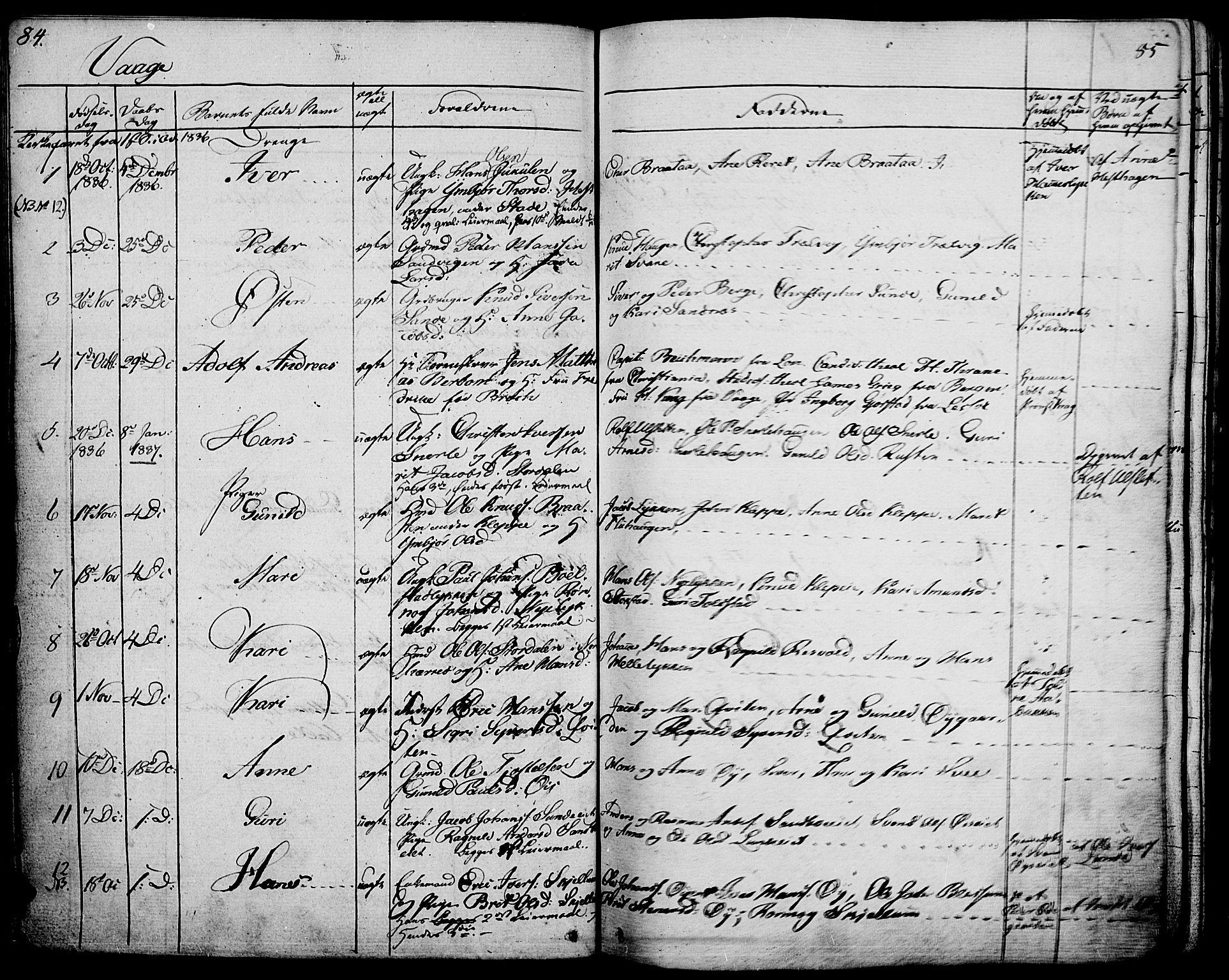 SAH, Vågå prestekontor, Ministerialbok nr. 4 /1, 1827-1842, s. 84