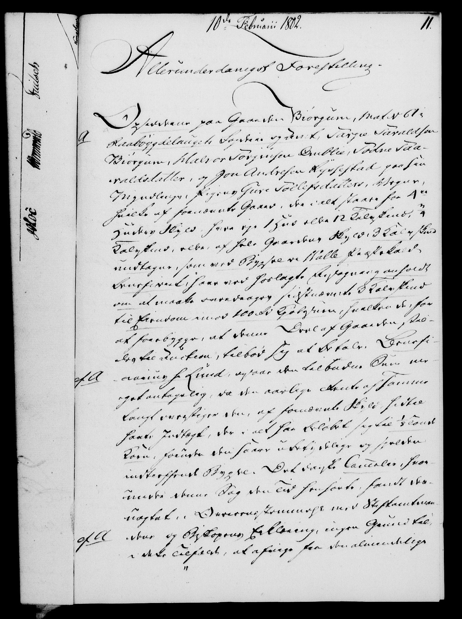 RA, Rentekammeret, Kammerkanselliet, G/Gf/Gfa/L0084: Norsk relasjons- og resolusjonsprotokoll (merket RK 52.84), 1802, s. 75