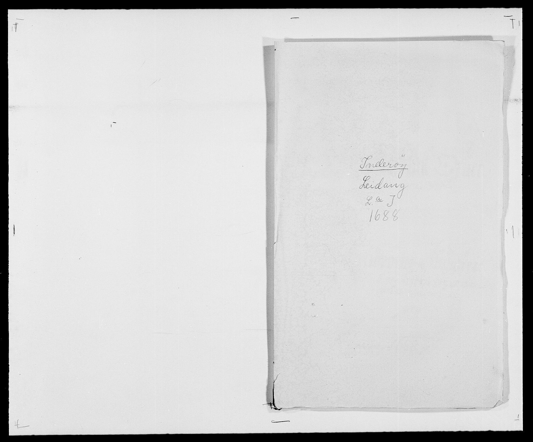 RA, Rentekammeret inntil 1814, Reviderte regnskaper, Fogderegnskap, R63/L4306: Fogderegnskap Inderøy, 1687-1689, s. 303