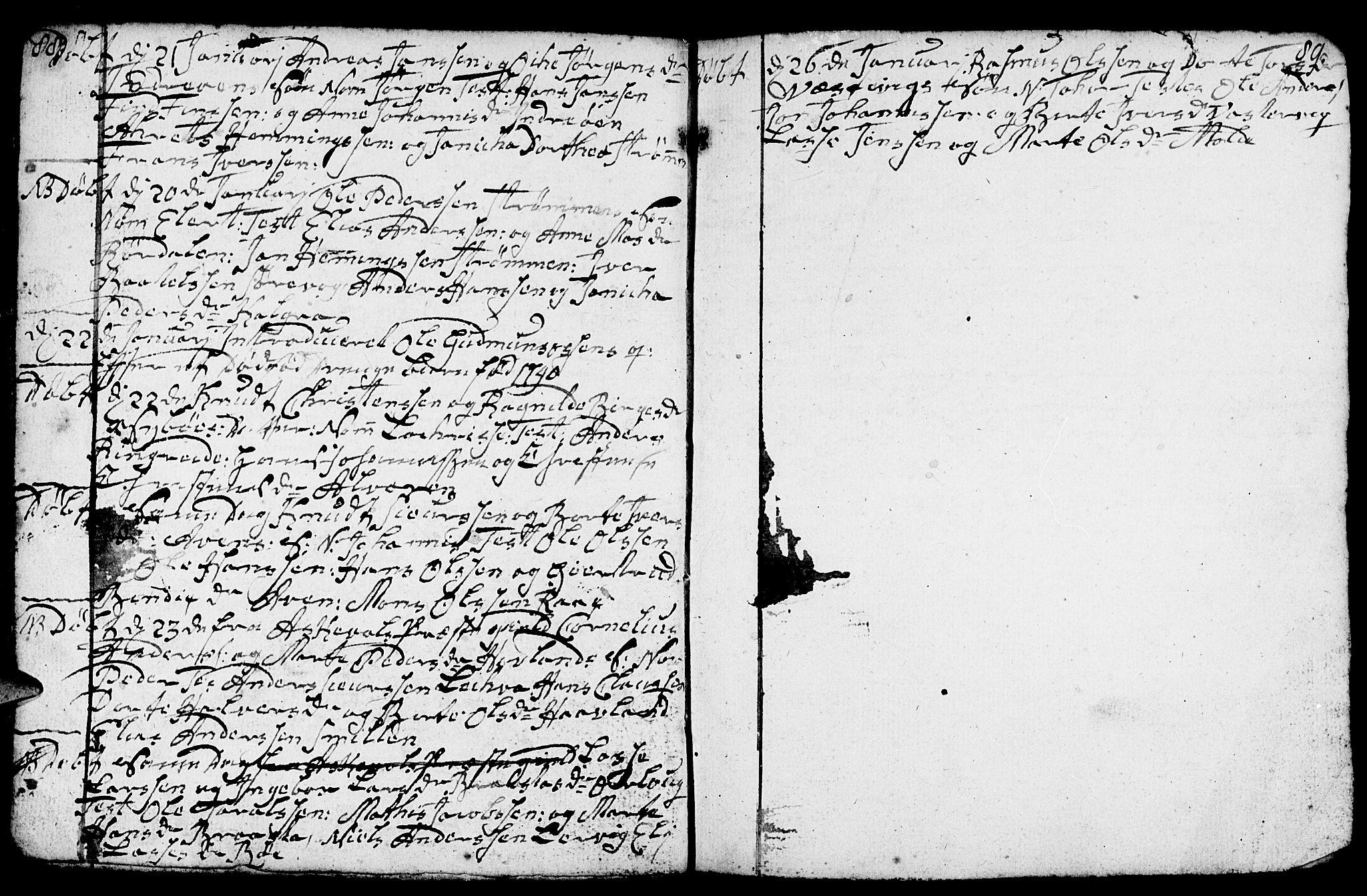 SAB, Gulen Sokneprestembete, Klokkerbok nr. A 1, 1786-1791, s. 108