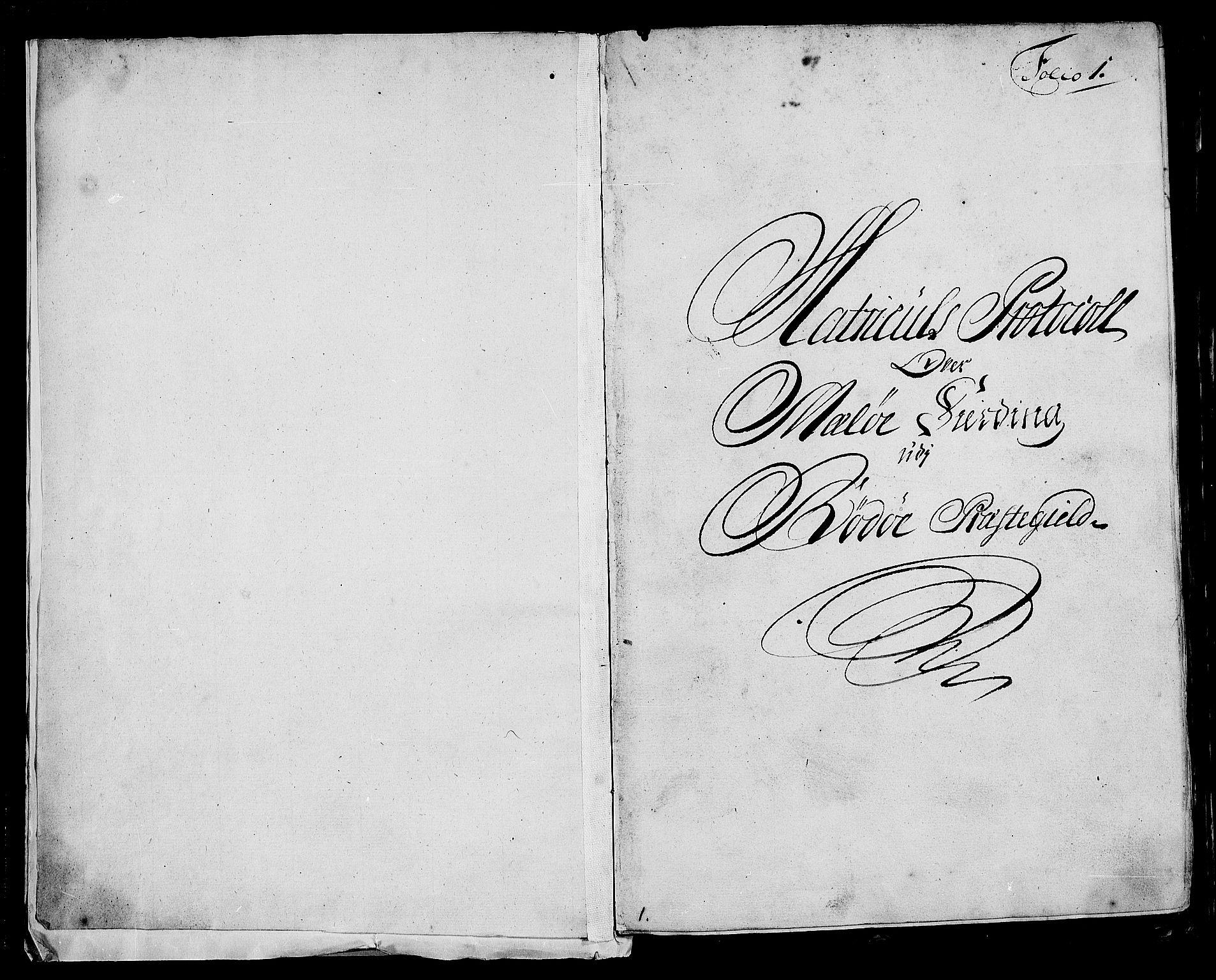 RA, Rentekammeret inntil 1814, Realistisk ordnet avdeling, N/Nb/Nbf/L0170: Helgeland eksaminasjonsprotokoll, 1723, s. 1a