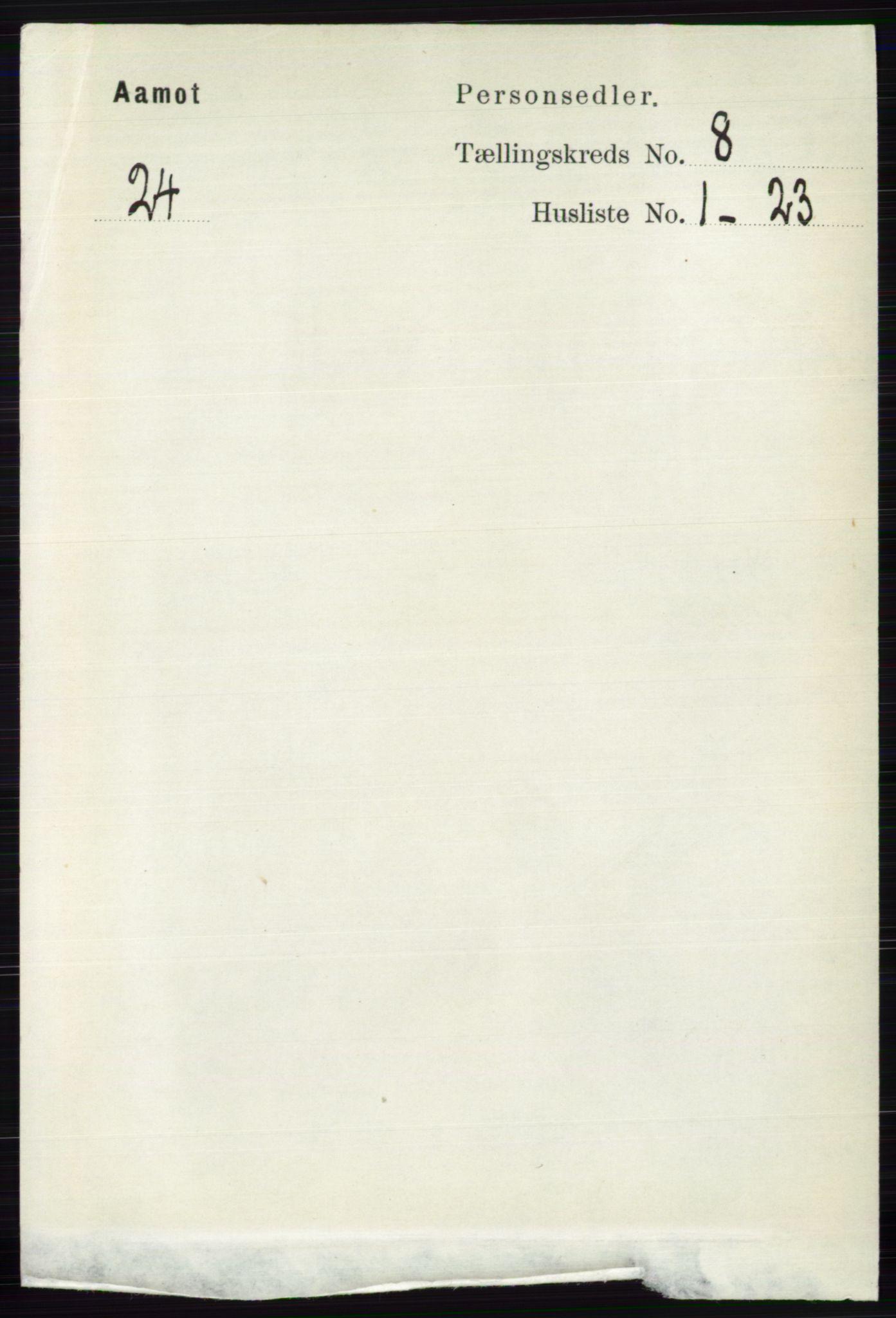 RA, Folketelling 1891 for 0429 Åmot herred, 1891, s. 3395