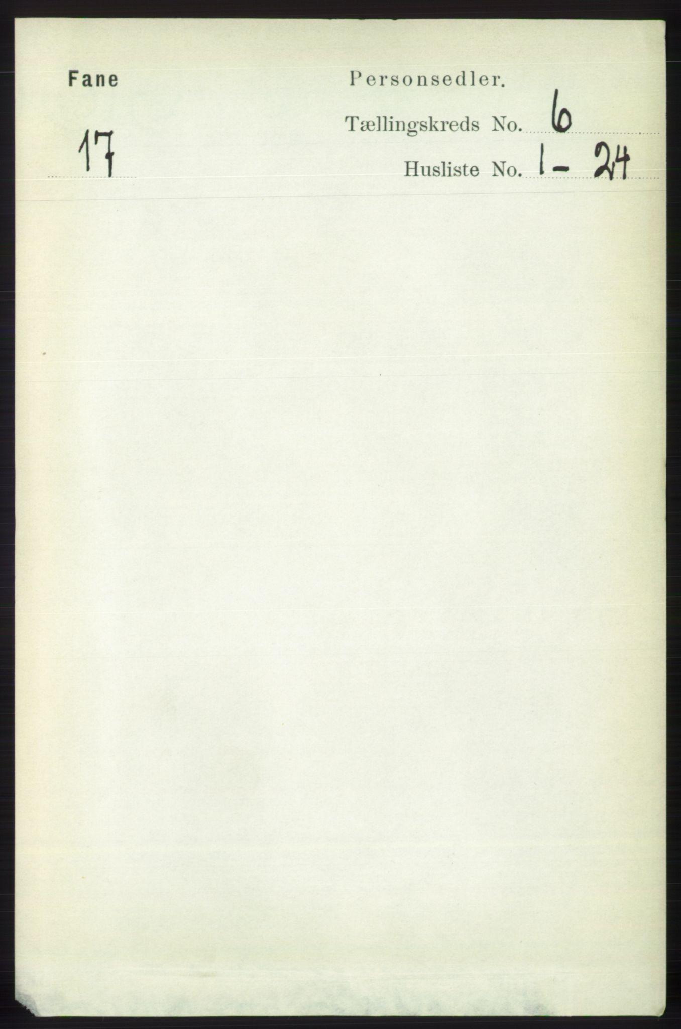 RA, Folketelling 1891 for 1249 Fana herred, 1891, s. 2559