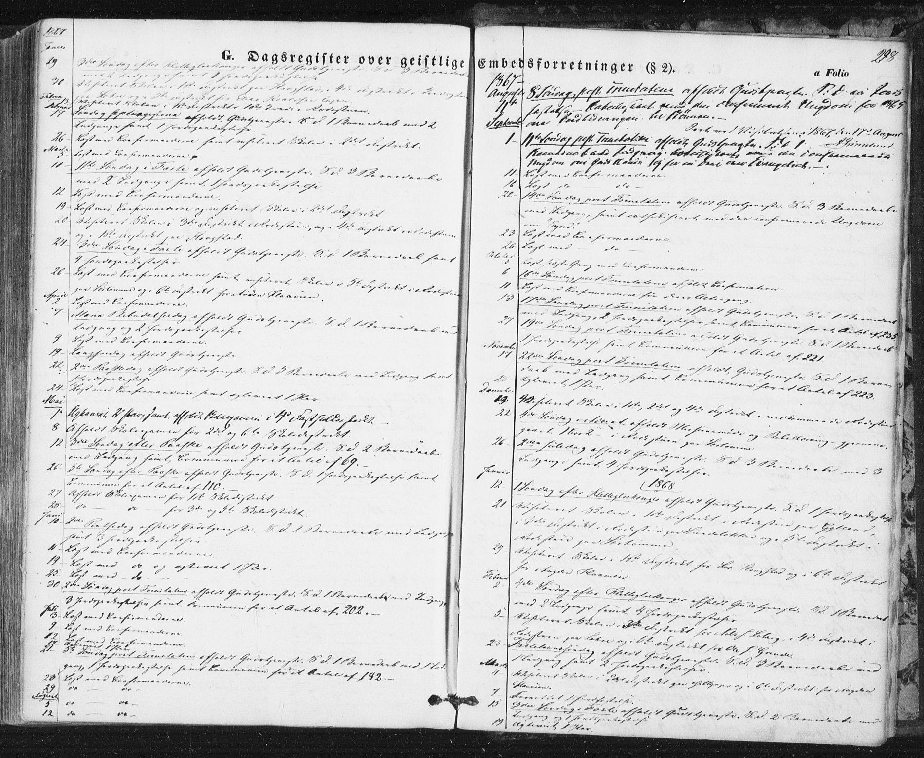 SAT, Ministerialprotokoller, klokkerbøker og fødselsregistre - Sør-Trøndelag, 692/L1103: Ministerialbok nr. 692A03, 1849-1870, s. 298