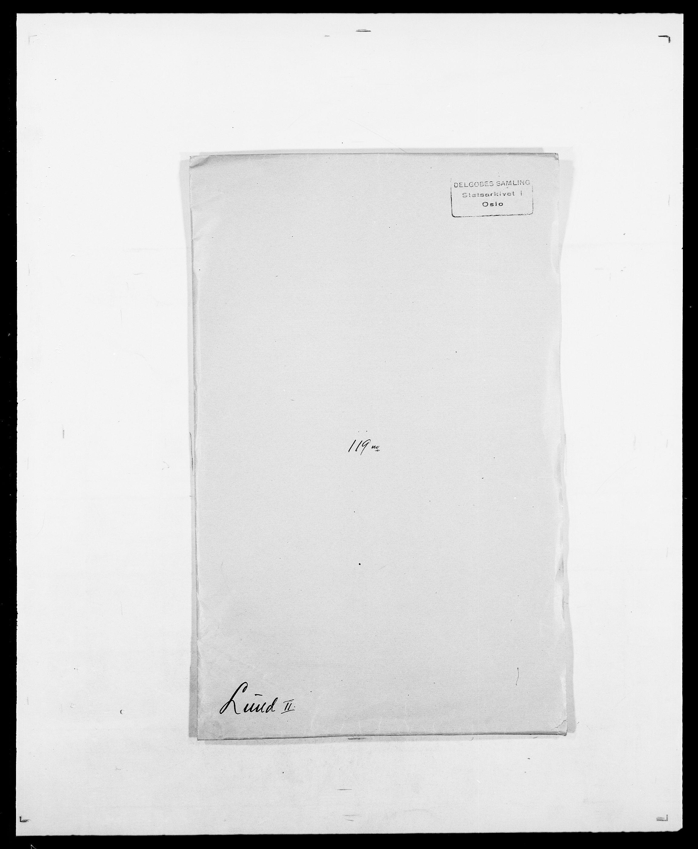 SAO, Delgobe, Charles Antoine - samling, D/Da/L0024: Lobech - Lærum, s. 546
