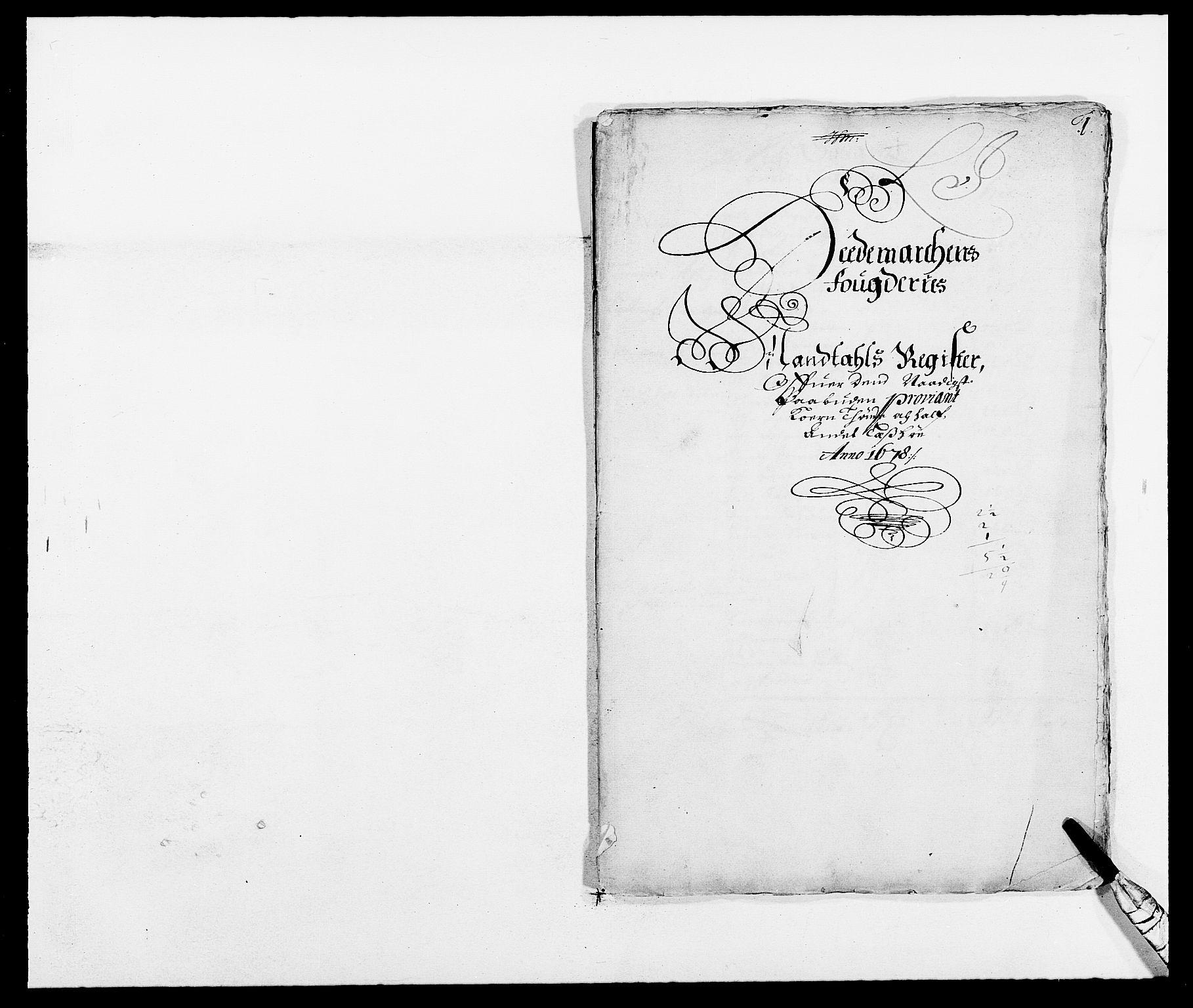 RA, Rentekammeret inntil 1814, Reviderte regnskaper, Fogderegnskap, R16/L1017: Fogderegnskap Hedmark, 1678-1679, s. 286