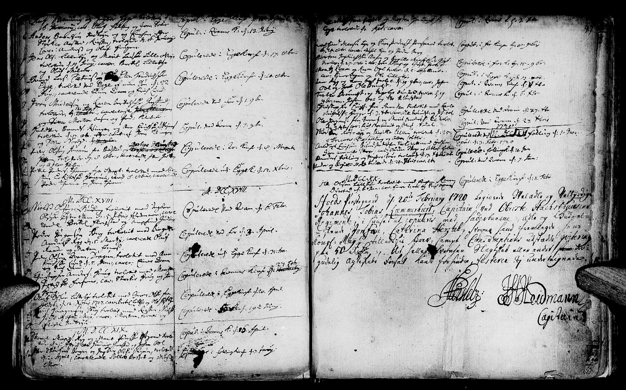 SAT, Ministerialprotokoller, klokkerbøker og fødselsregistre - Nord-Trøndelag, 746/L0439: Ministerialbok nr. 746A01, 1688-1759, s. 97