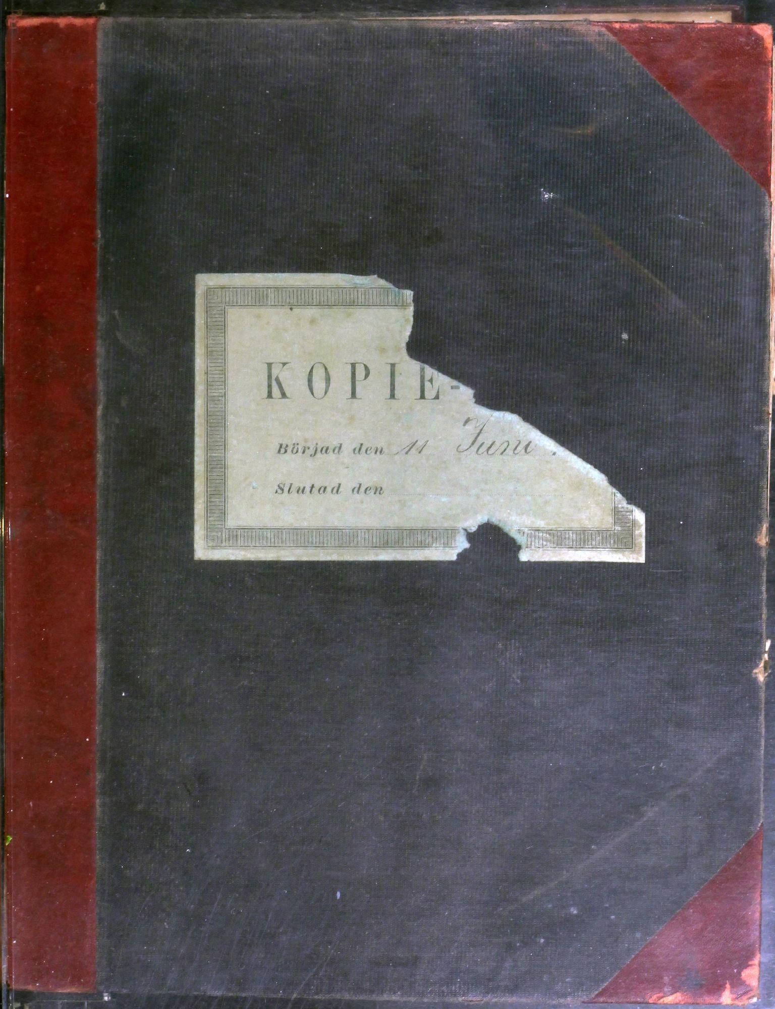 AIN, A/S Sulitjelma Gruber, B/Ba/L0010: Kopibok - Diverse adressater, 1897-1898