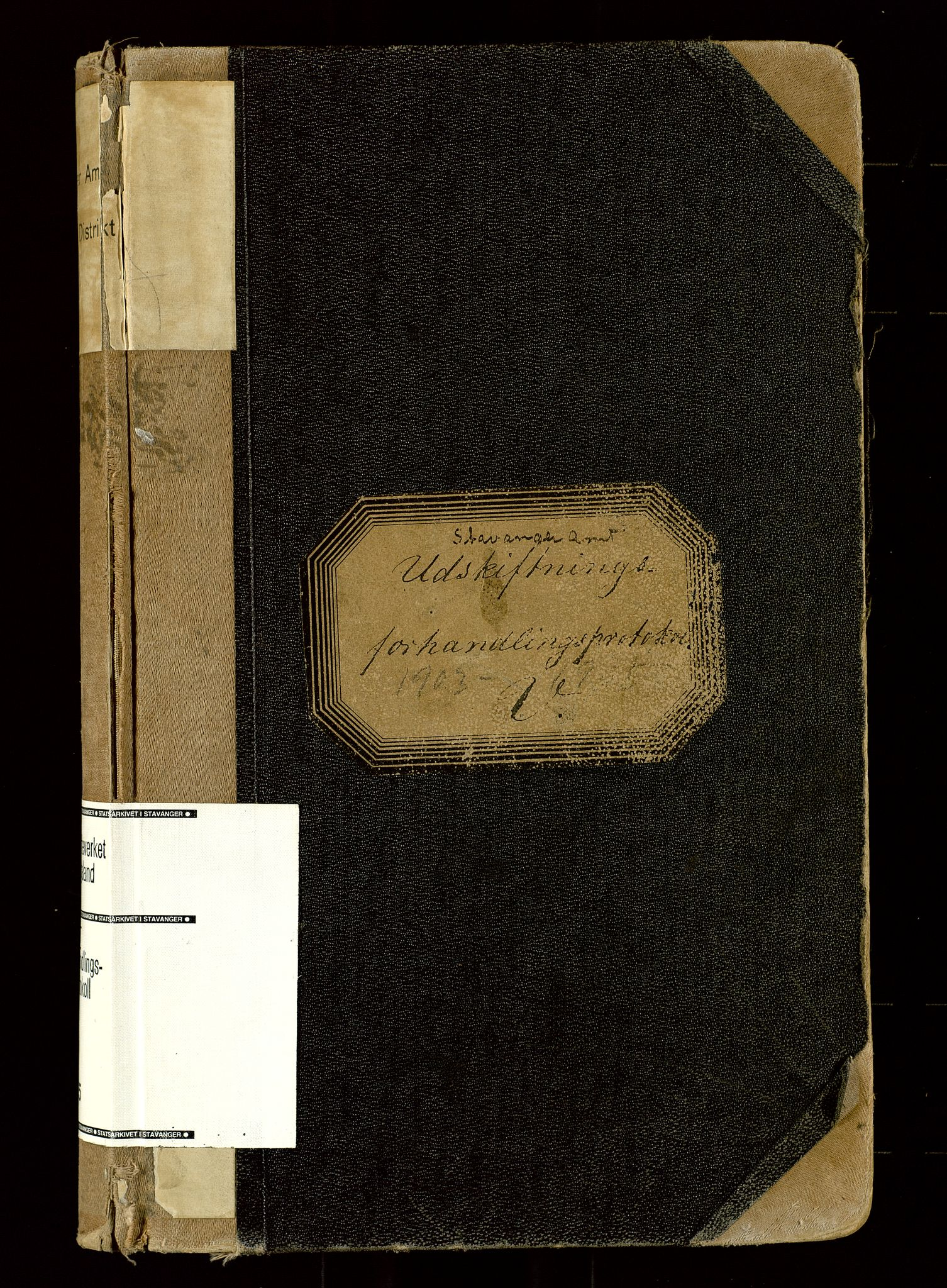 SAST, Rogaland jordskifterett, Oa/L0055: Forhandlingsprotokoll, 1903-1905