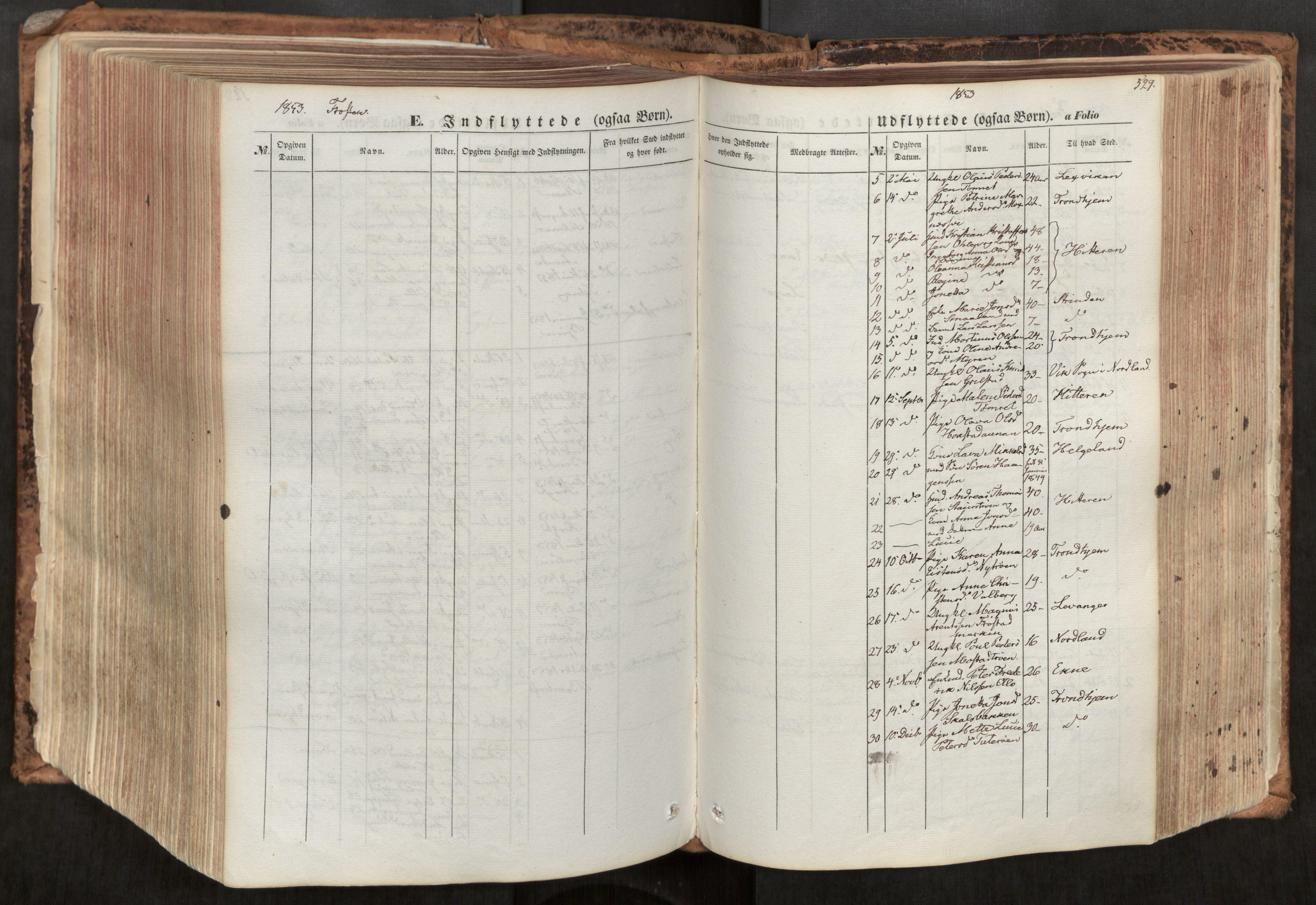 SAT, Ministerialprotokoller, klokkerbøker og fødselsregistre - Nord-Trøndelag, 713/L0116: Ministerialbok nr. 713A07, 1850-1877, s. 529