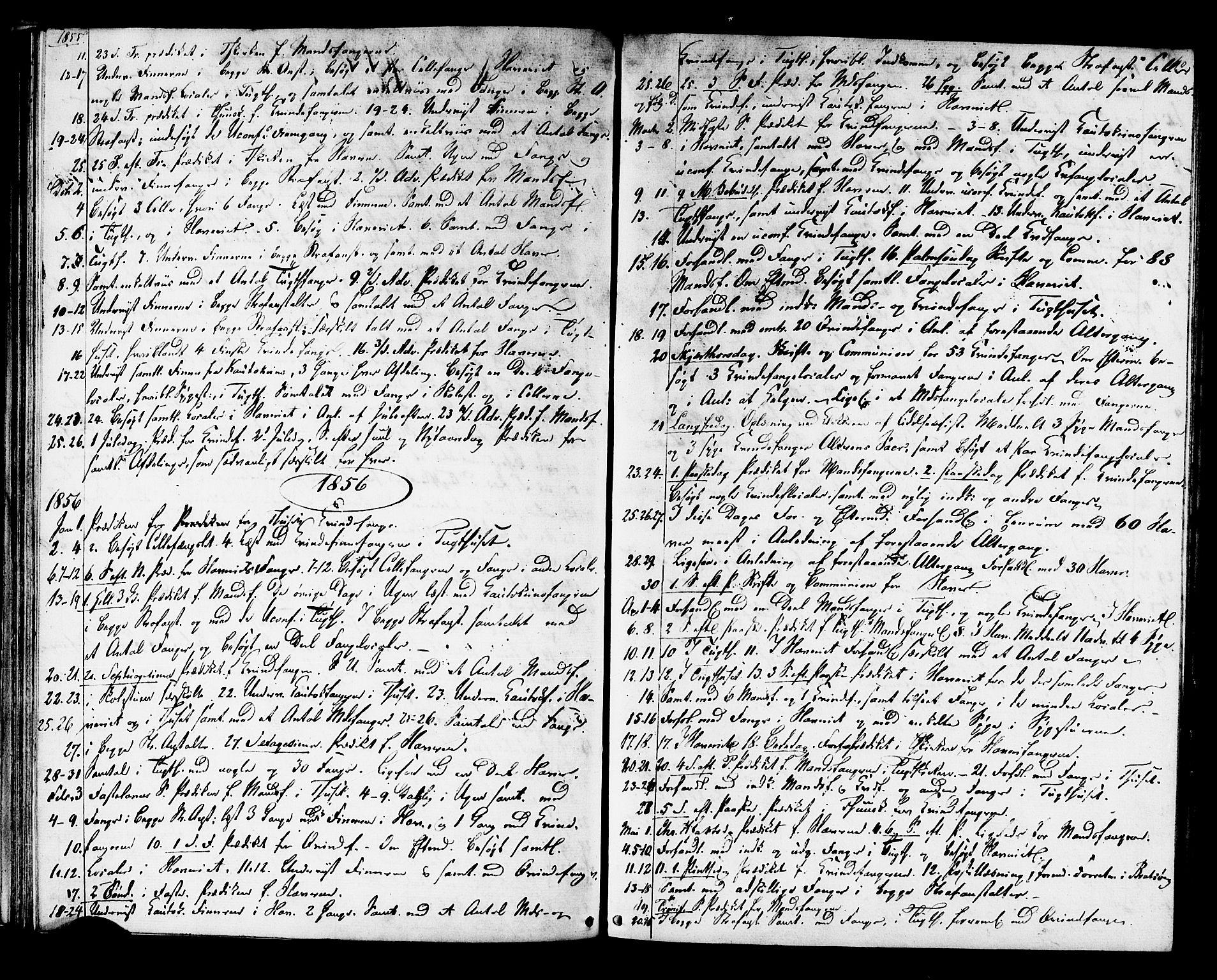 SAT, Ministerialprotokoller, klokkerbøker og fødselsregistre - Sør-Trøndelag, 624/L0481: Ministerialbok nr. 624A02, 1841-1869, s. 40