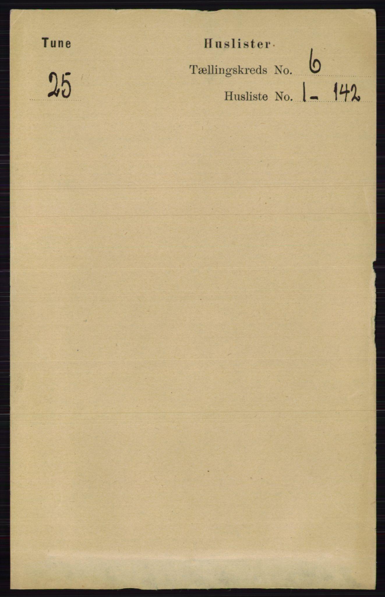 RA, Folketelling 1891 for 0130 Tune herred, 1891, s. 3948