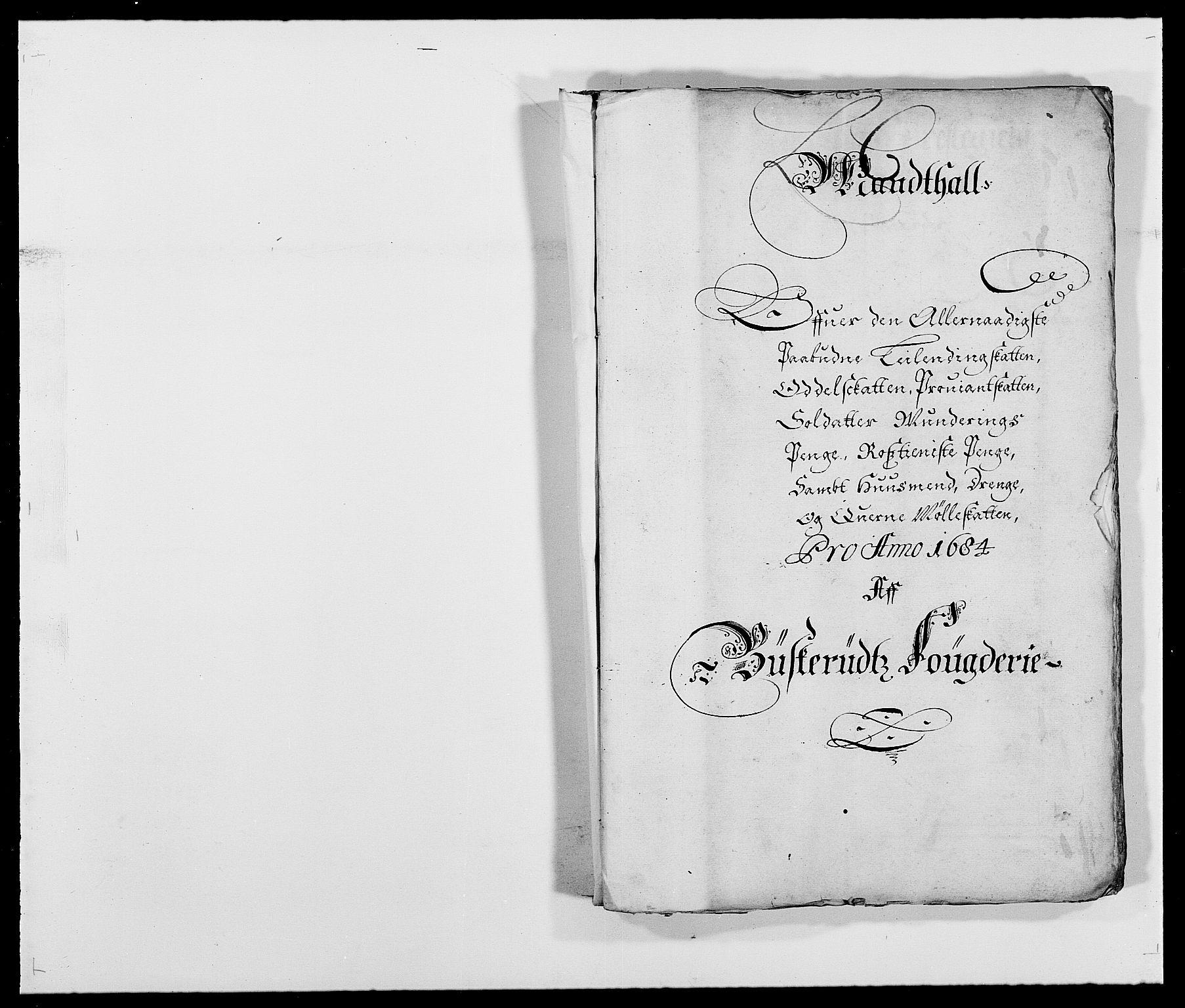 RA, Rentekammeret inntil 1814, Reviderte regnskaper, Fogderegnskap, R25/L1677: Fogderegnskap Buskerud, 1683-1684, s. 209