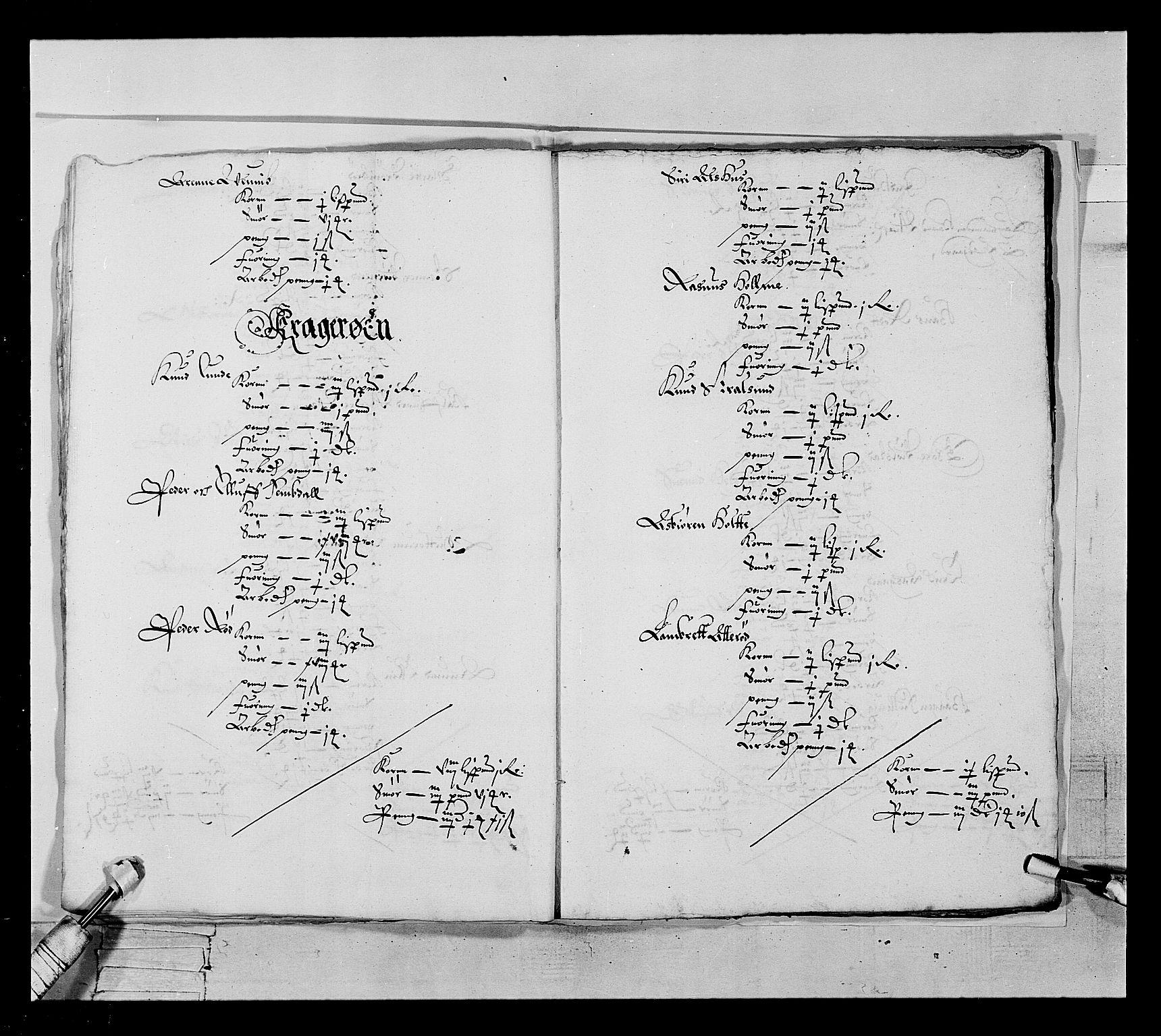 RA, Stattholderembetet 1572-1771, Ek/L0022: Jordebøker 1633-1658:, 1646-1647, s. 15