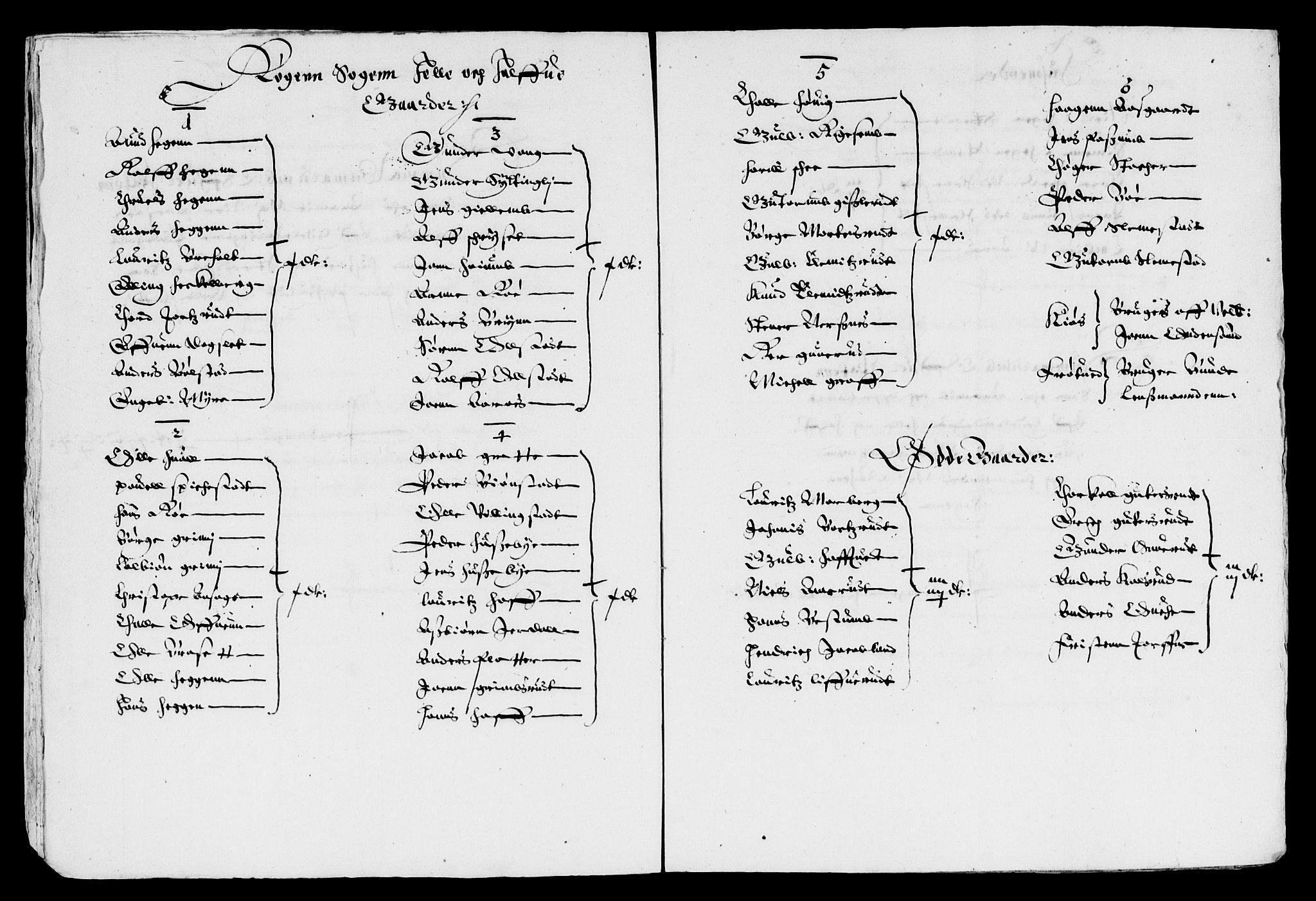 RA, Rentekammeret inntil 1814, Reviderte regnskaper, Lensregnskaper, R/Rb/Rba/L0134: Akershus len, 1637, s. upaginert
