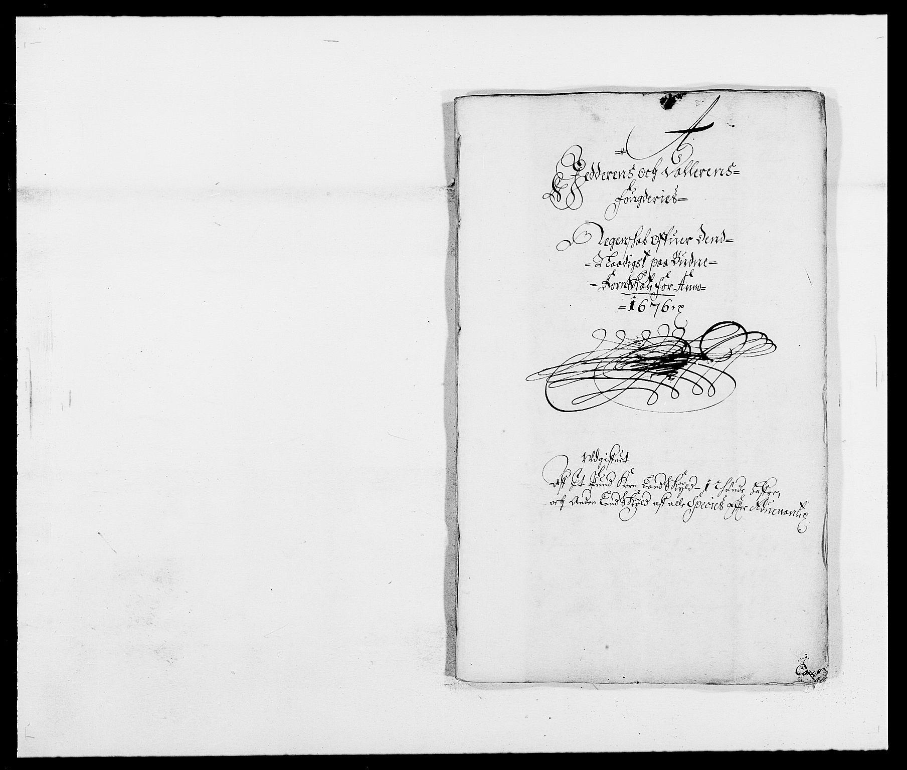 RA, Rentekammeret inntil 1814, Reviderte regnskaper, Fogderegnskap, R46/L2716: Fogderegnskap Jæren og Dalane, 1676, s. 19