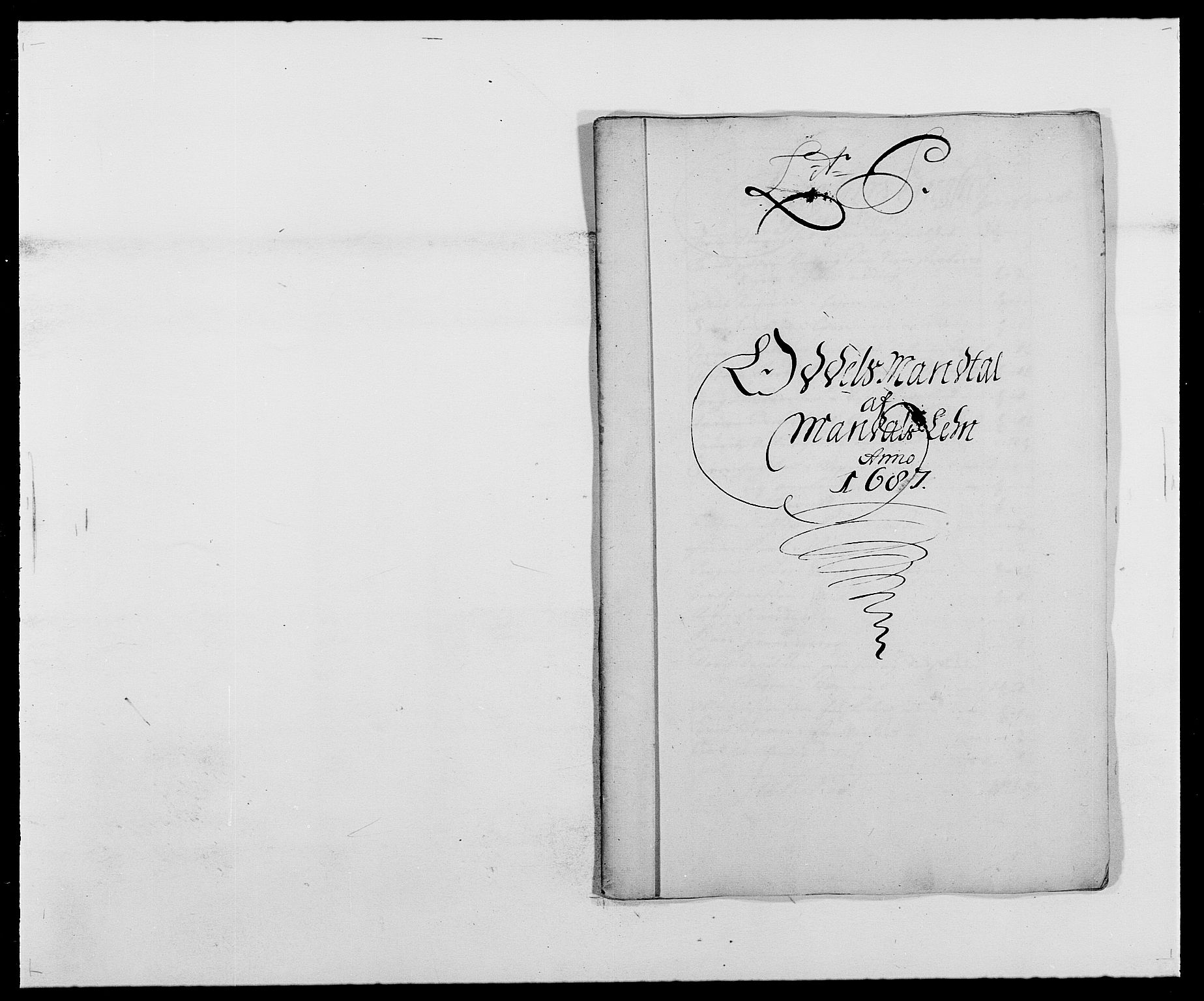 RA, Rentekammeret inntil 1814, Reviderte regnskaper, Fogderegnskap, R42/L2542: Mandal fogderi, 1685-1687, s. 198
