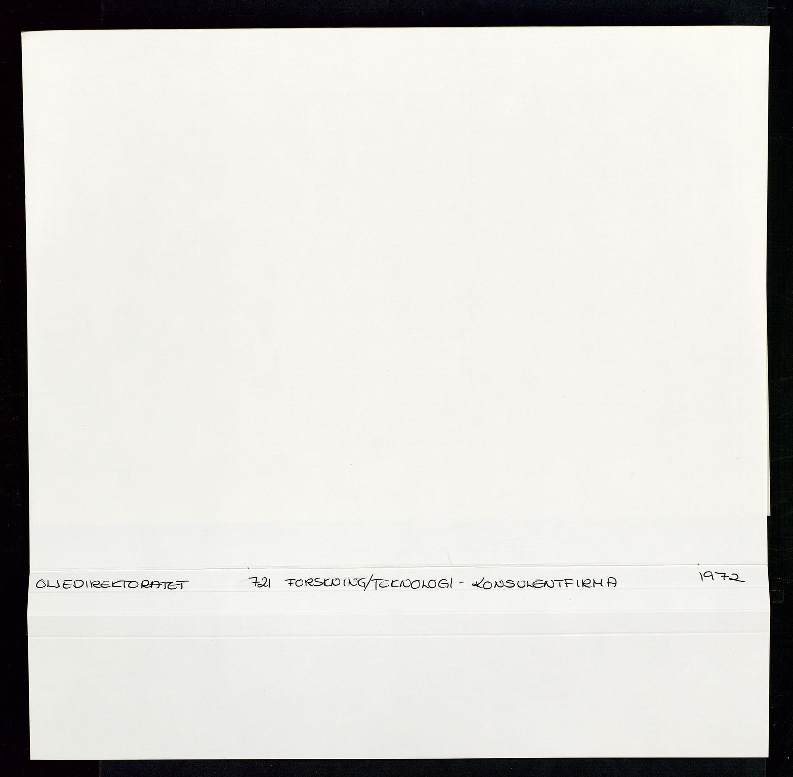SAST, Industridepartementet, Oljekontoret, Da/L0008:  Arkivnøkkel 721- 722 Geofysikk, forskning, 1970-1972, s. 177